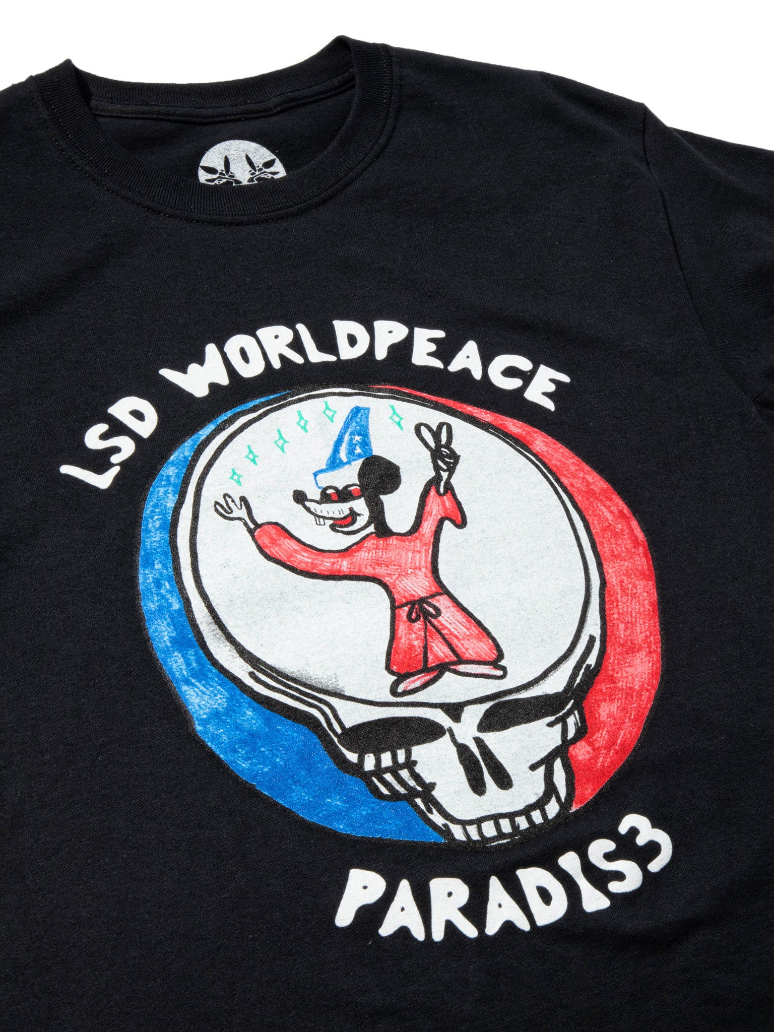 White LSD World Peace T-Shirt 7