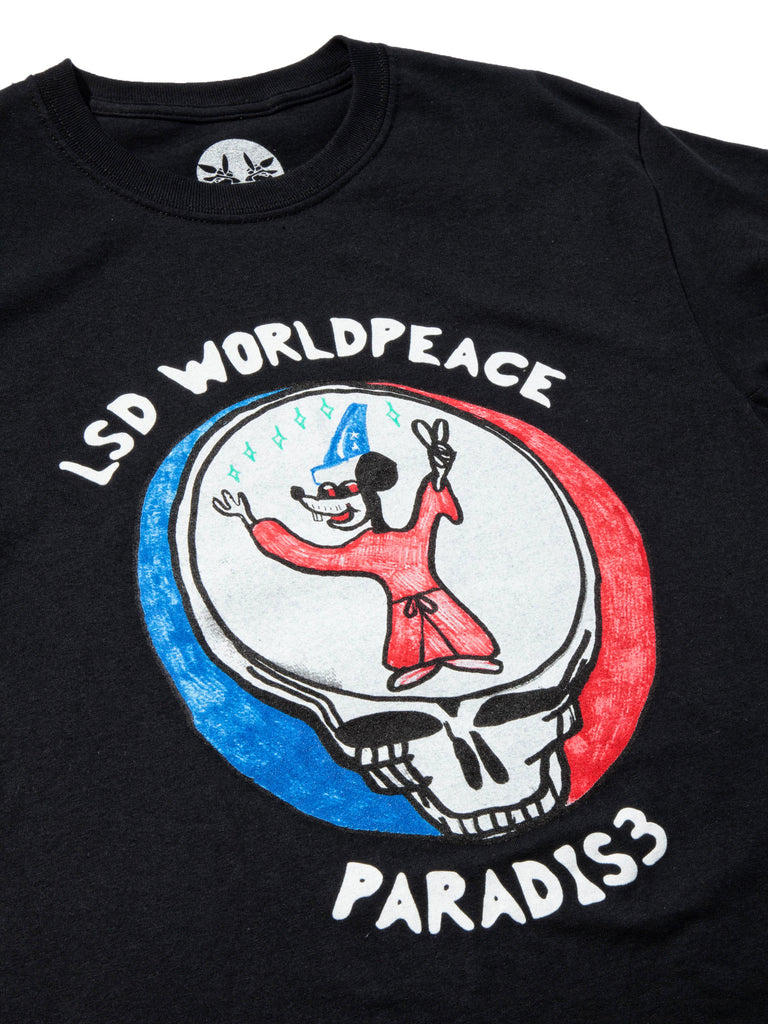 White LSD World Peace T-Shirt 719354849993