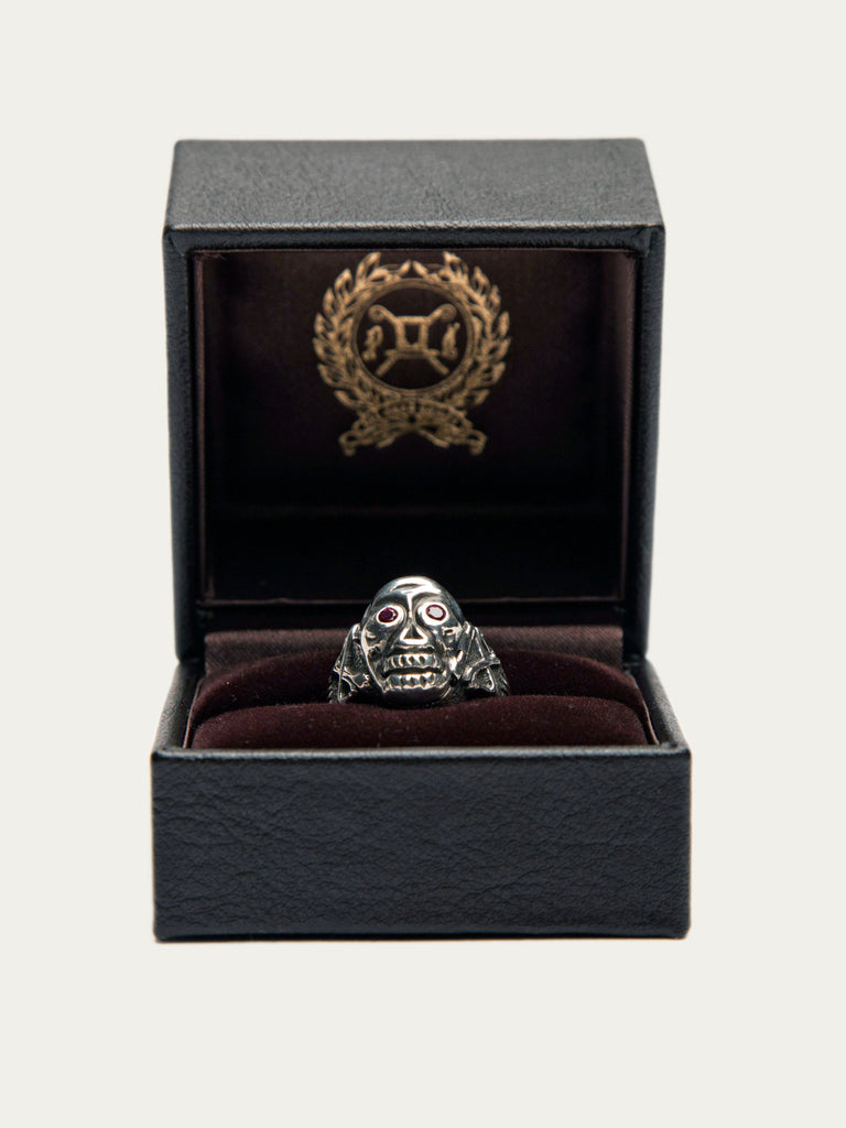 Skull Poison Ring (Zirconia)