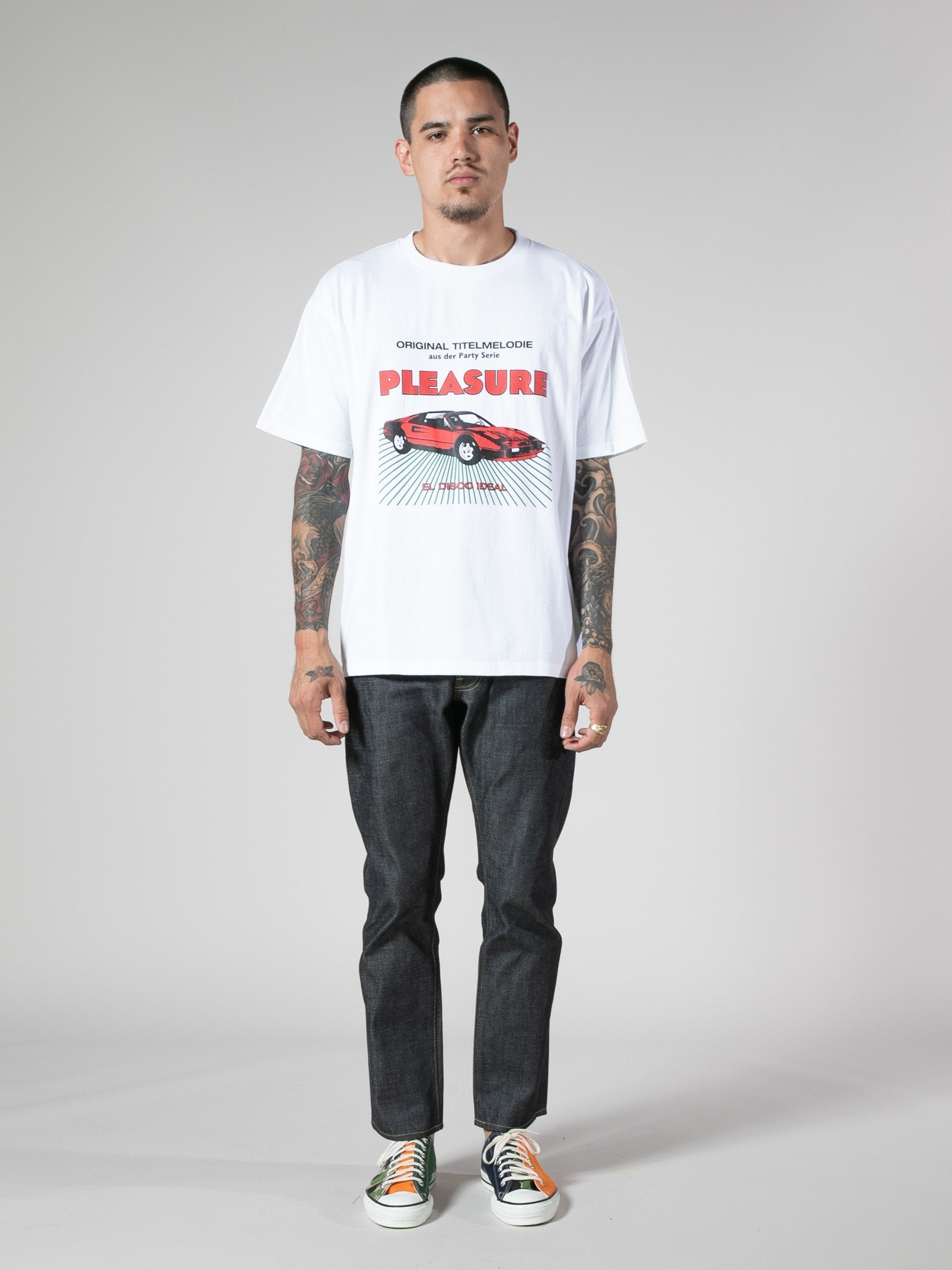 White New Car T-Shirt 3