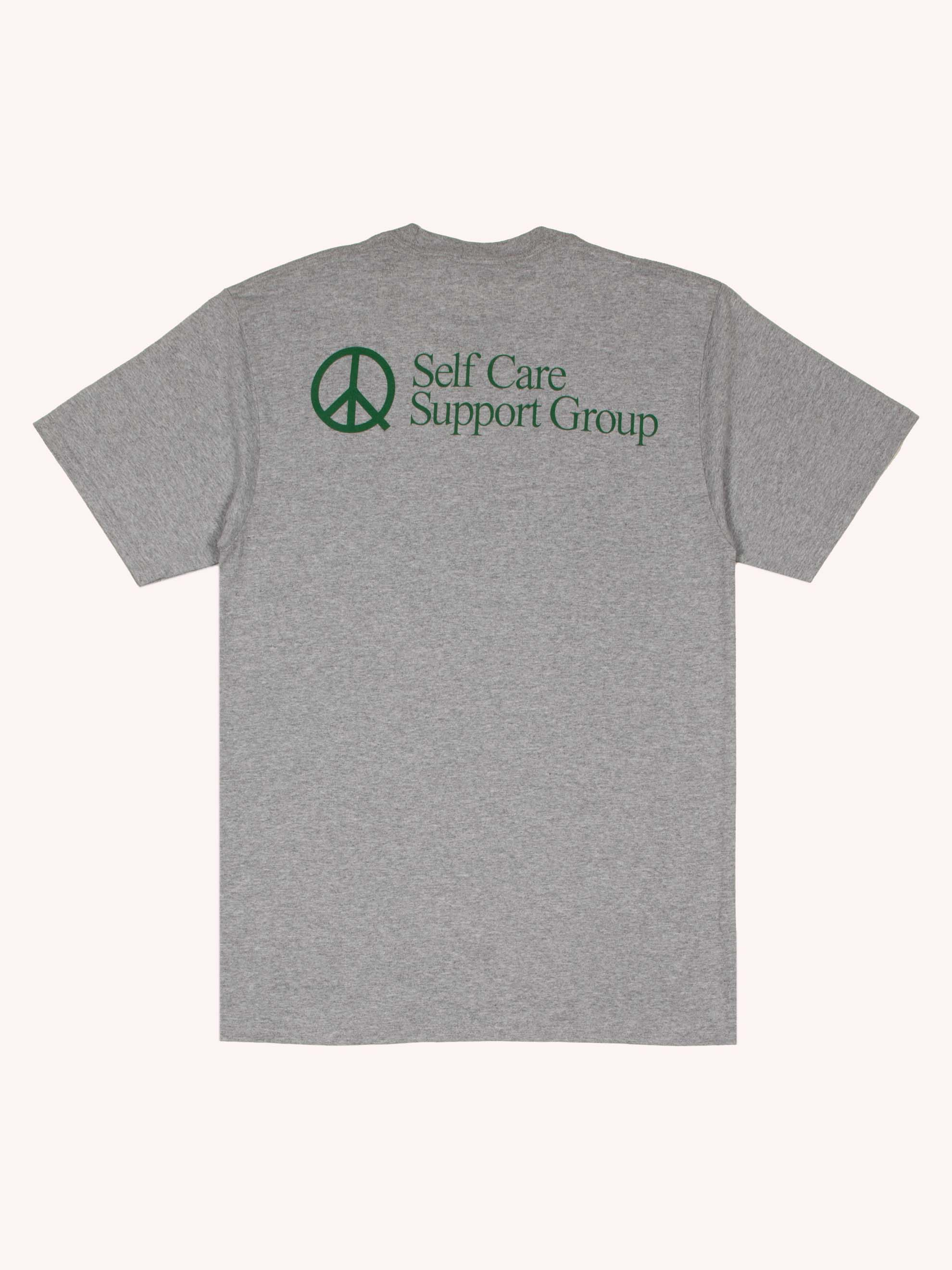 Heather Grey Selfcare T-shirt 1