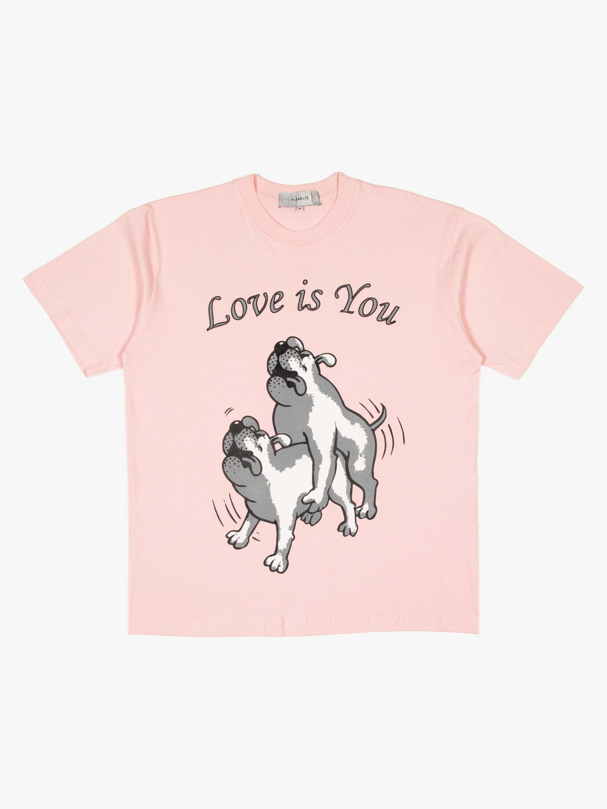 Light Pink Love Is You T-Shirt 1