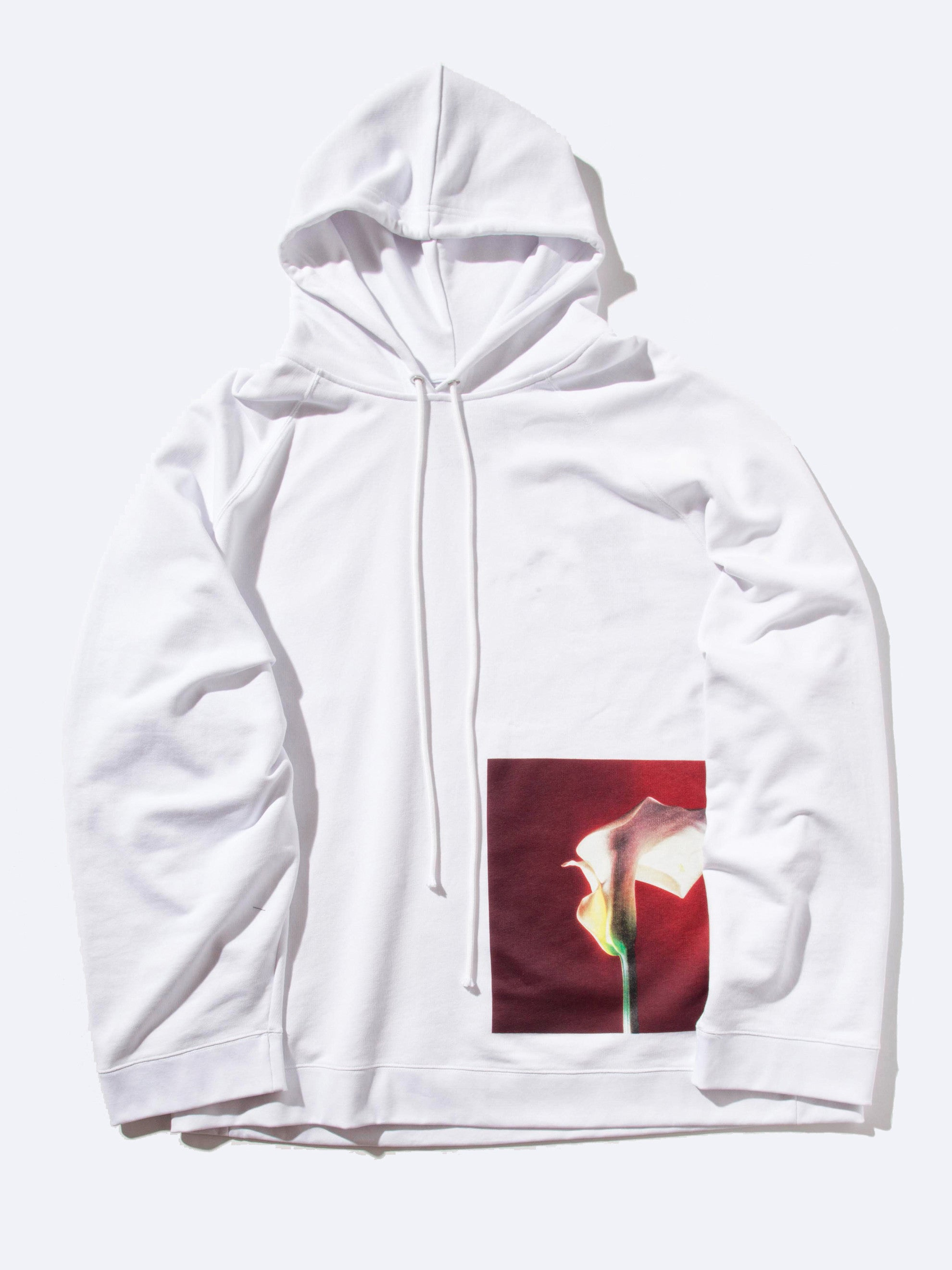 White Oversized Hoodie (Calla Lily) 1