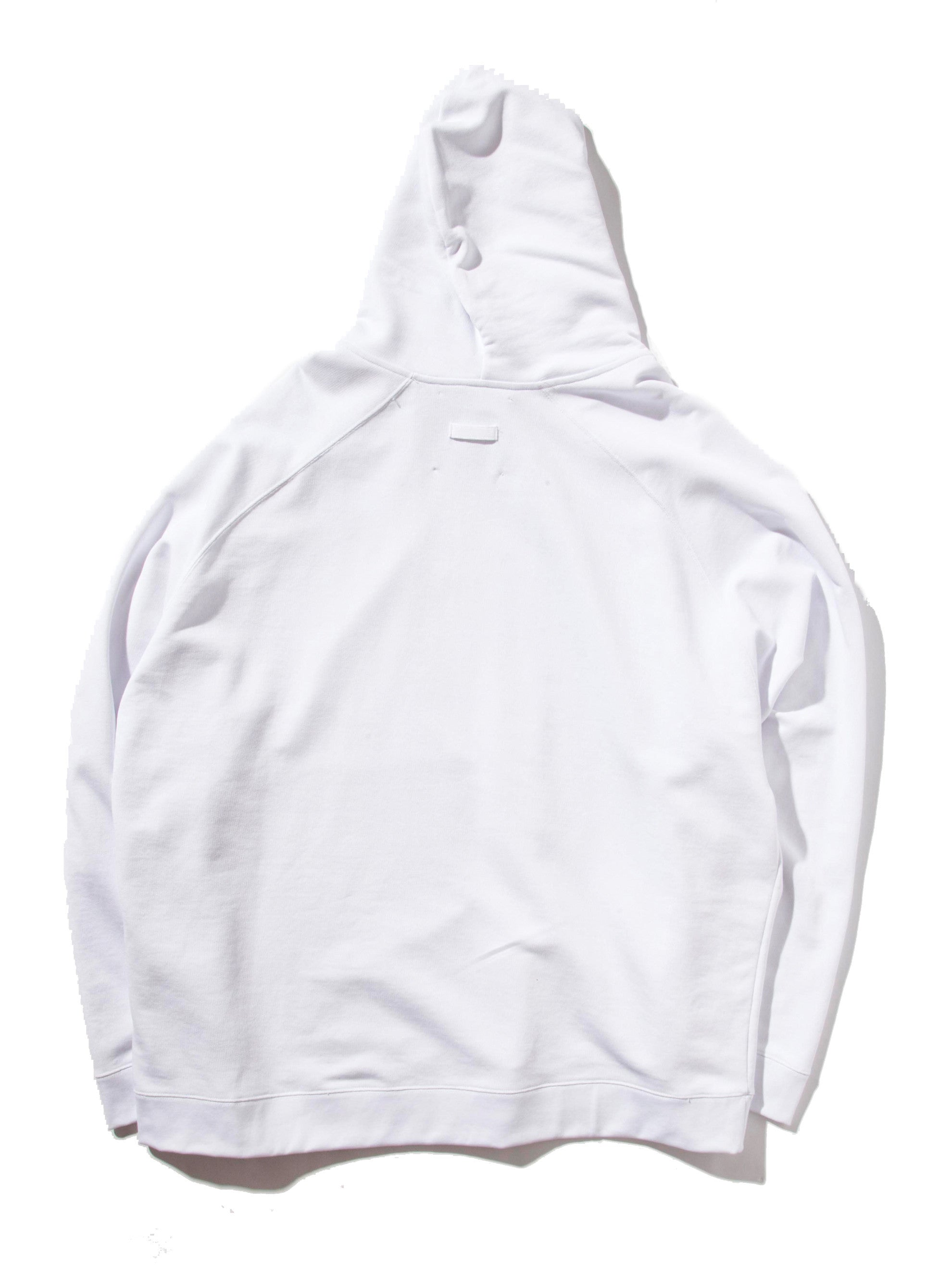 White Oversized Hoodie (Calla Lily) 6