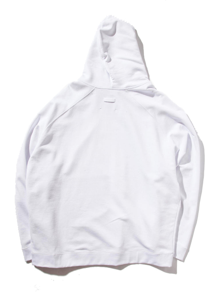 White Oversized Hoodie (Calla Lily) 620014553097
