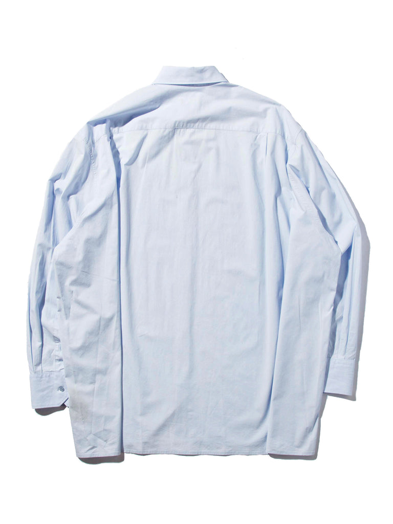 Lt. Blue Oversized Shirt 1019109191497