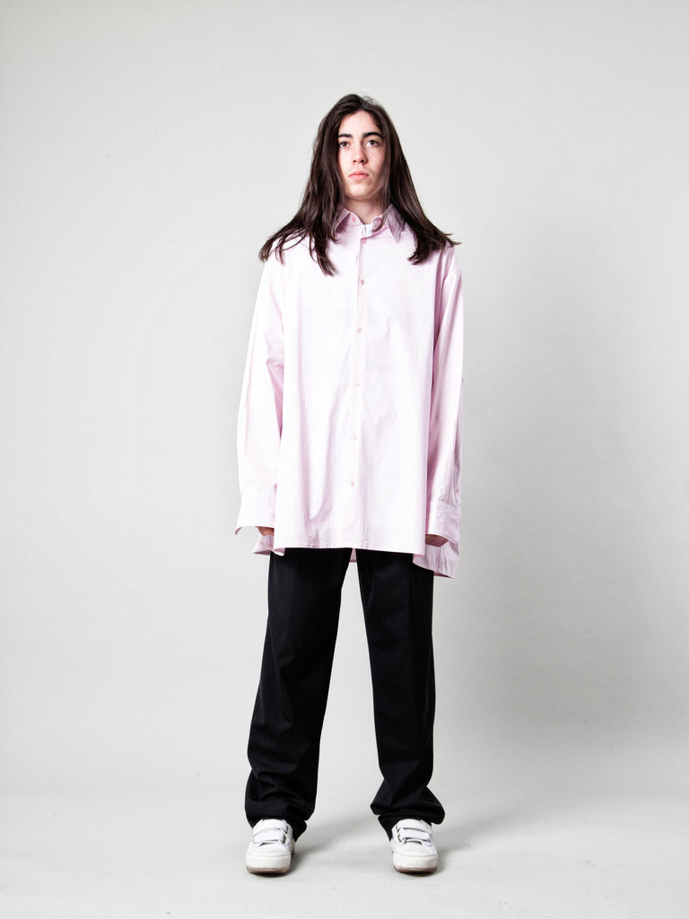 Black Oversized Shirt 219109192201