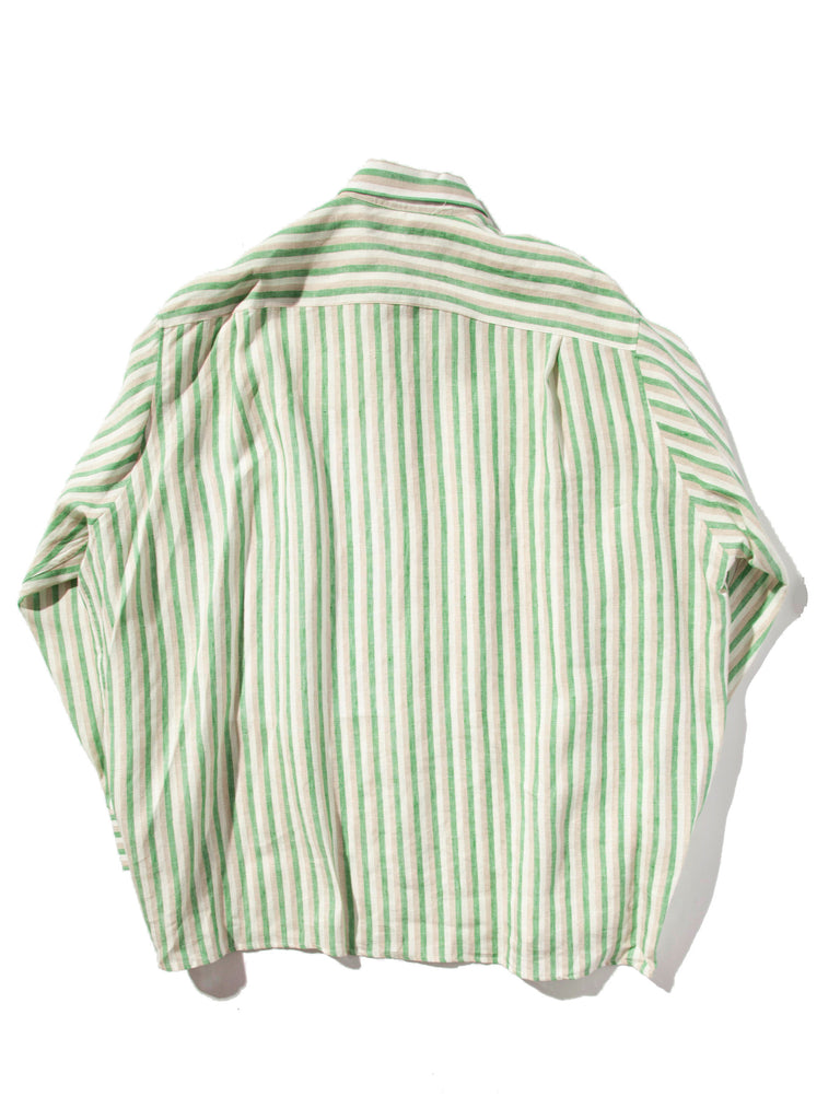 White/Green Oversized Shirt (Alice Neel) 620014502665