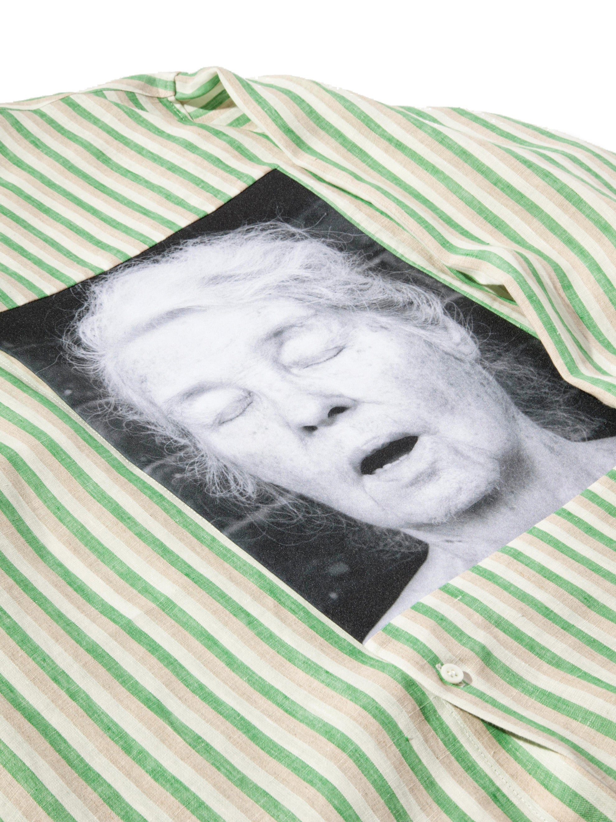 White/Green Oversized Shirt (Alice Neel) 7