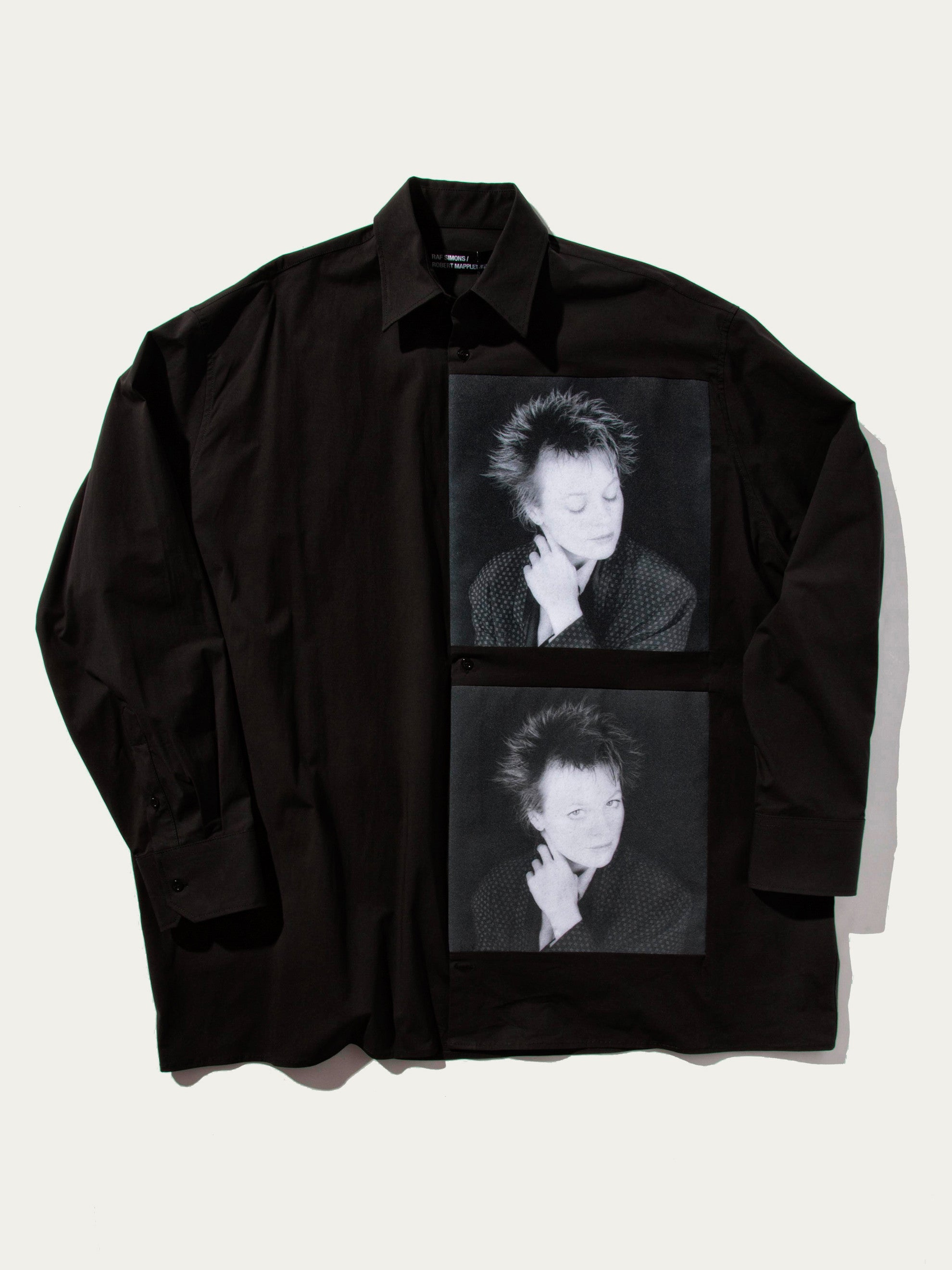 Black Oversized Shirt (Laurie Anderson, 1987) 1