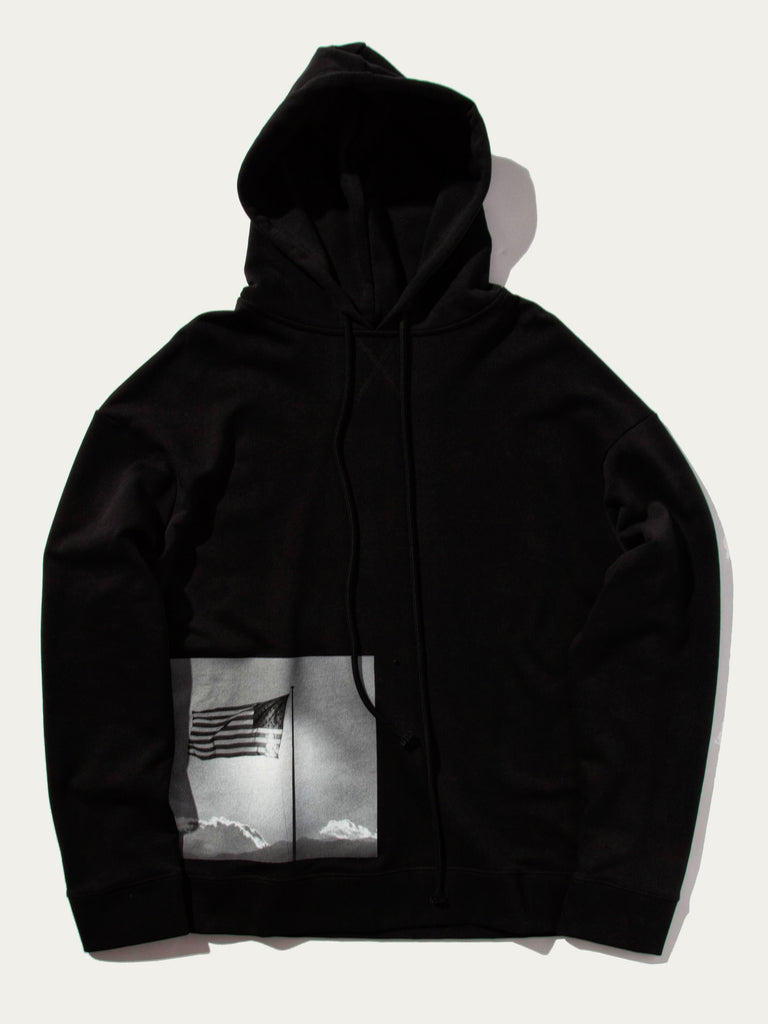 Regular Fit Hoodie (American Flag)