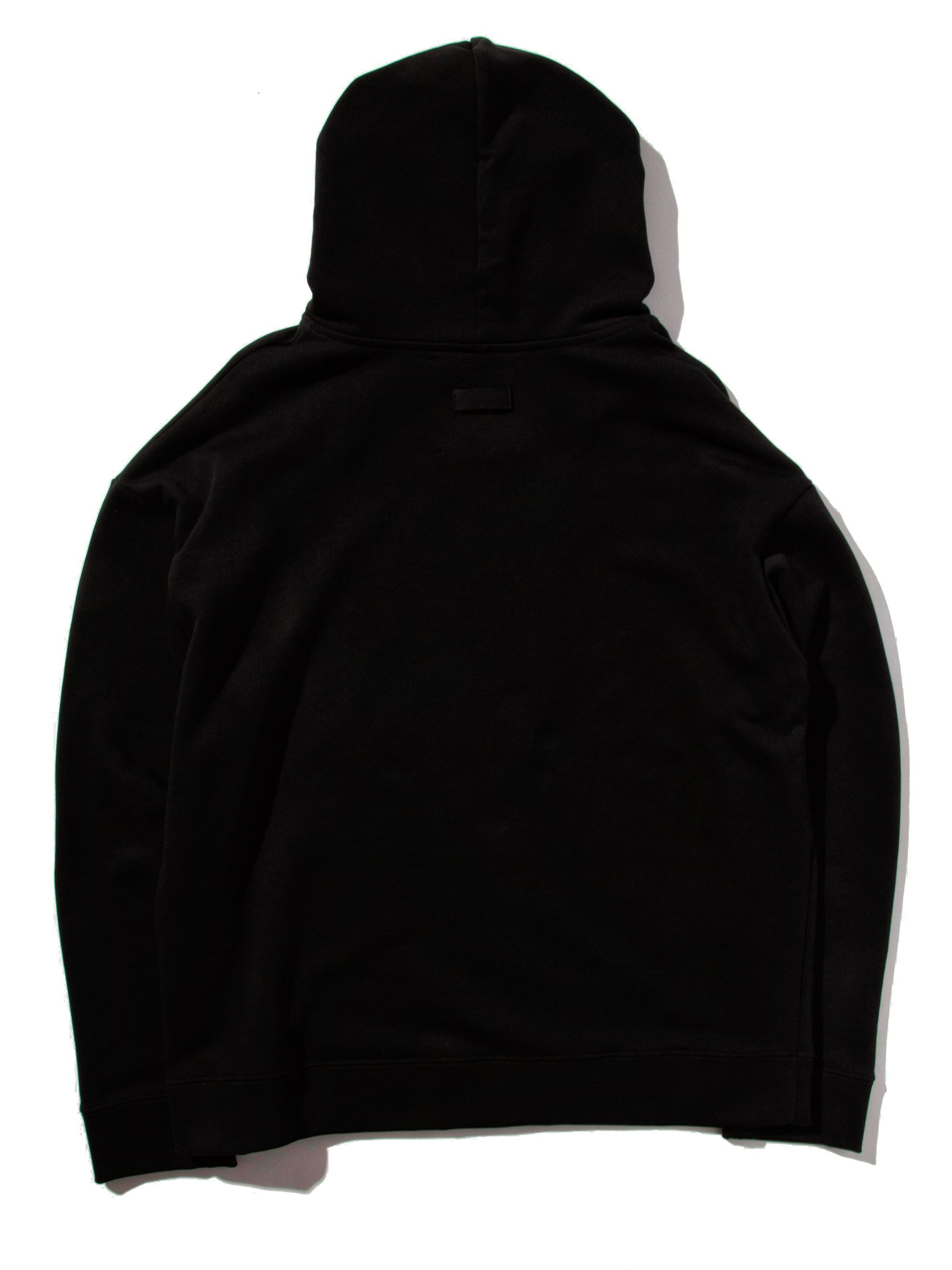Black Regular Fit Hoodie (American Flag) 5