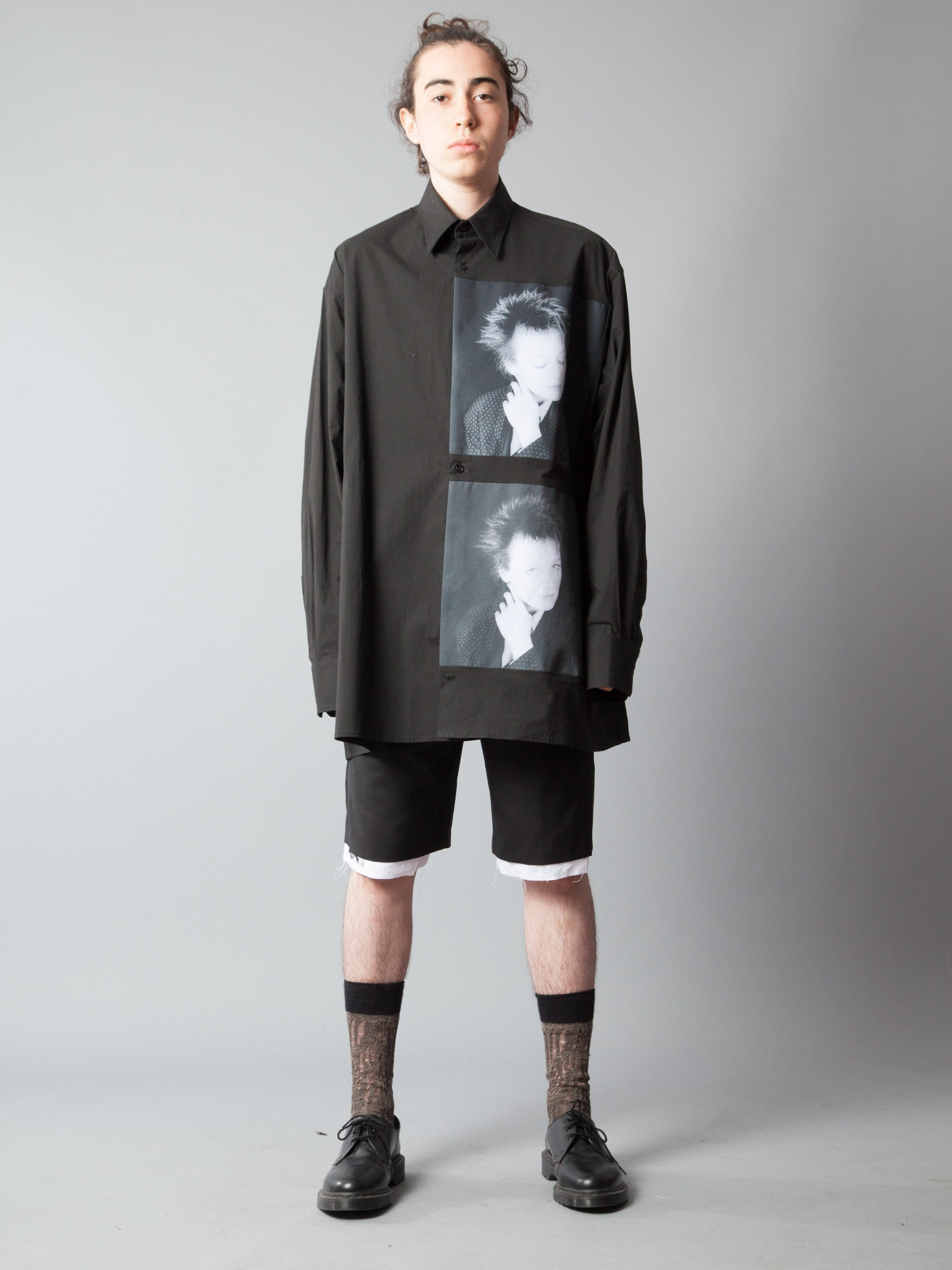 Black Oversized Shirt (Laurie Anderson, 1987) 2
