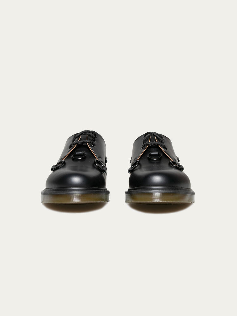 Black Raf Simons x Dr. Martens Low Shoe With Nickel Rings 314325699575885