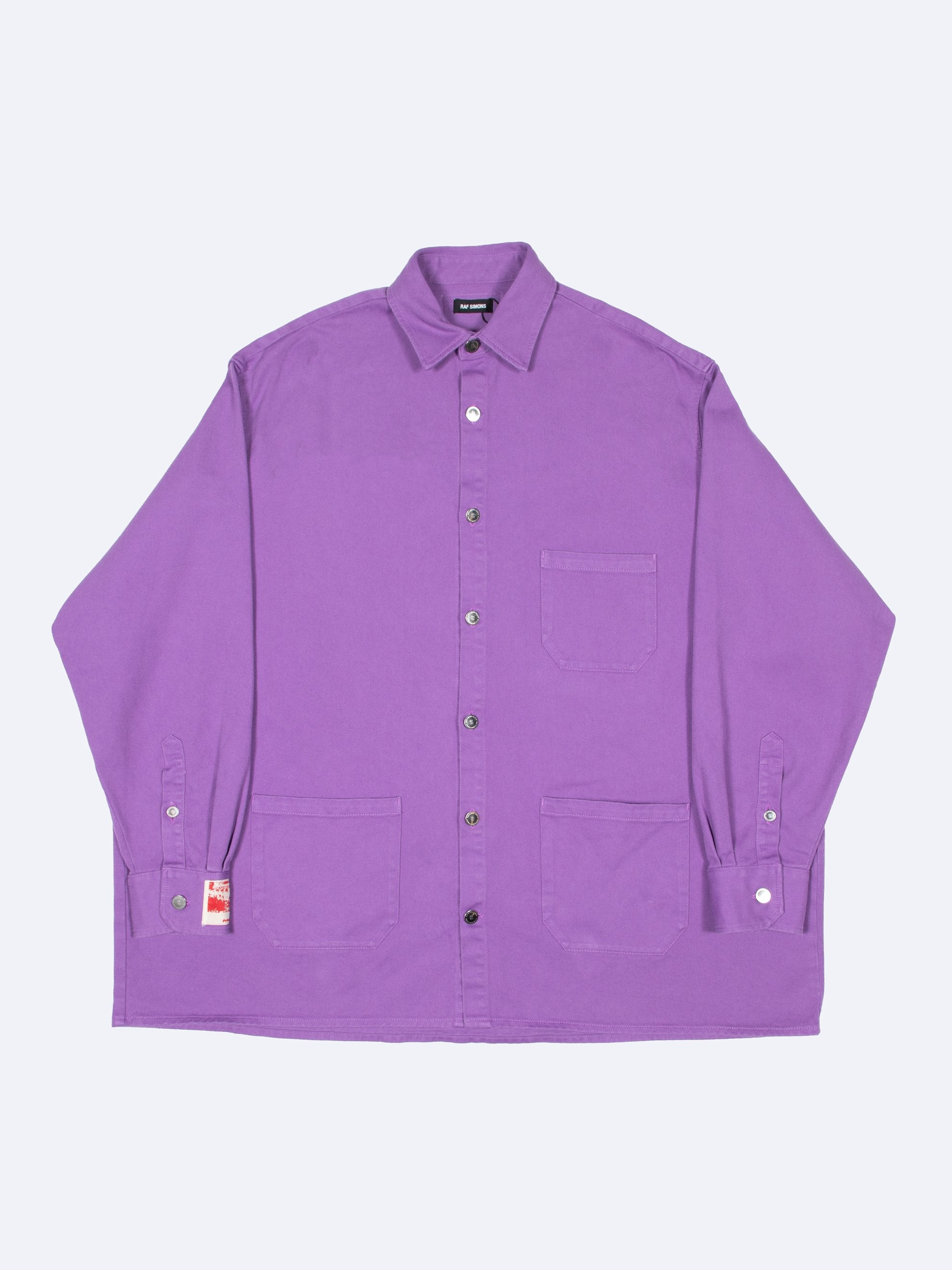 Purple Big Fit Denim Shirt 1