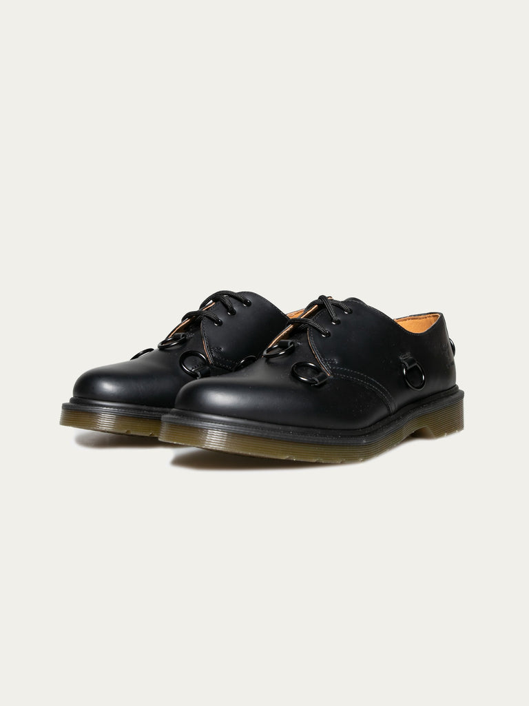Black Raf Simons x Dr. Martens Low Shoe With Nickel Rings 214325699543117