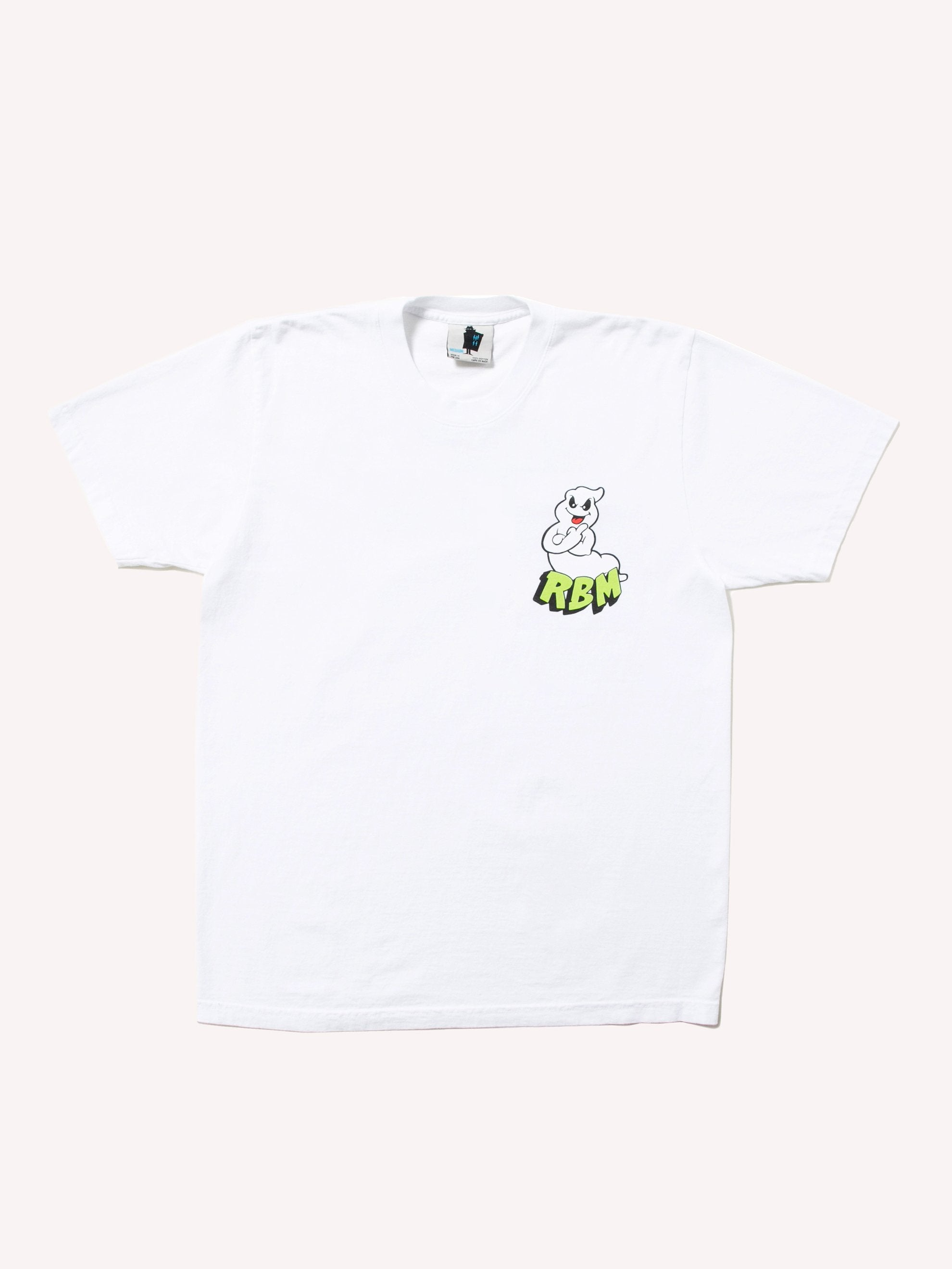 White F U Ghost T-Shirt 1
