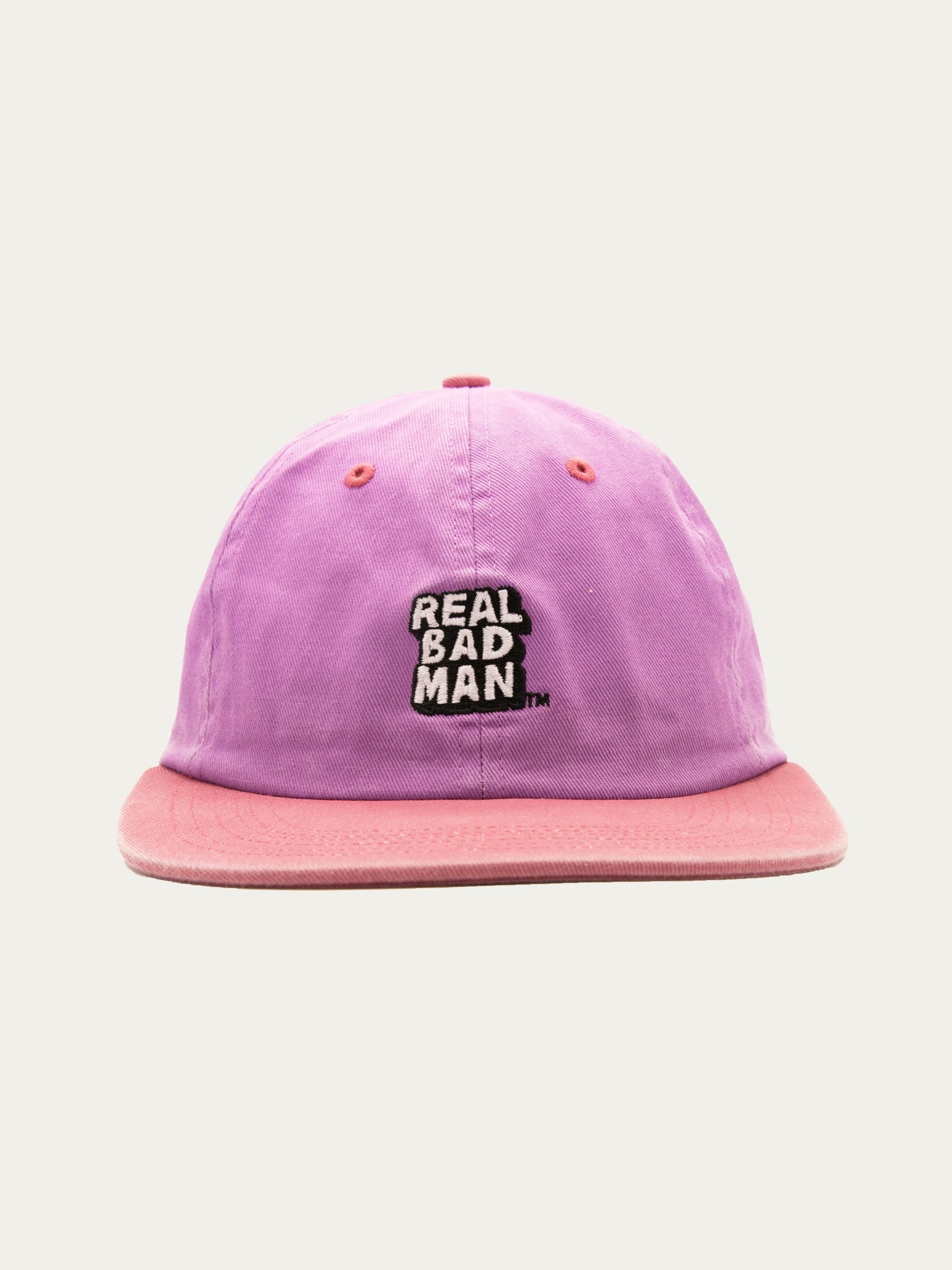Purple/ Pink RBM Washed Out 6 Panel Cap 1