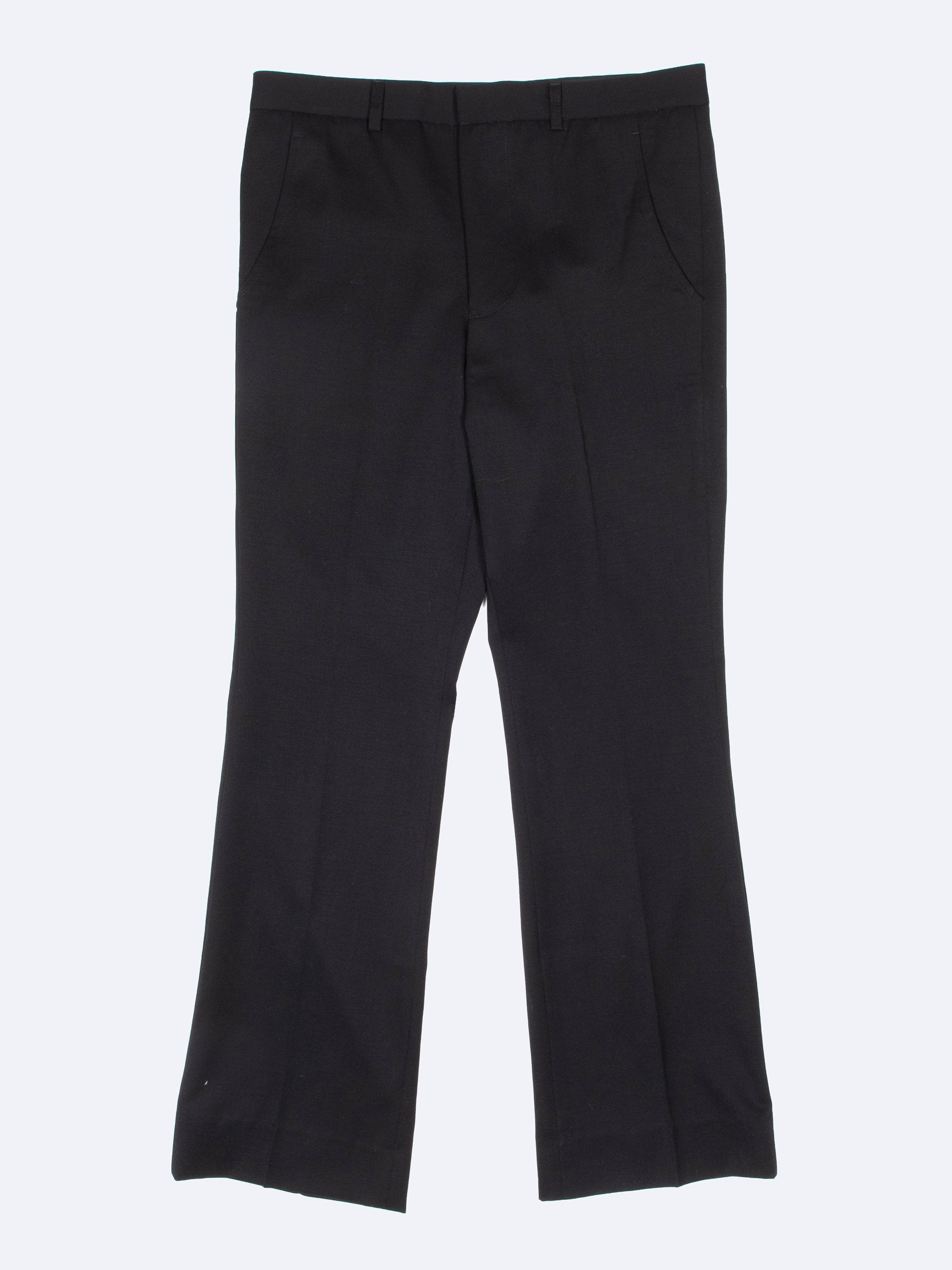 Black Rex Flared Trouser 1