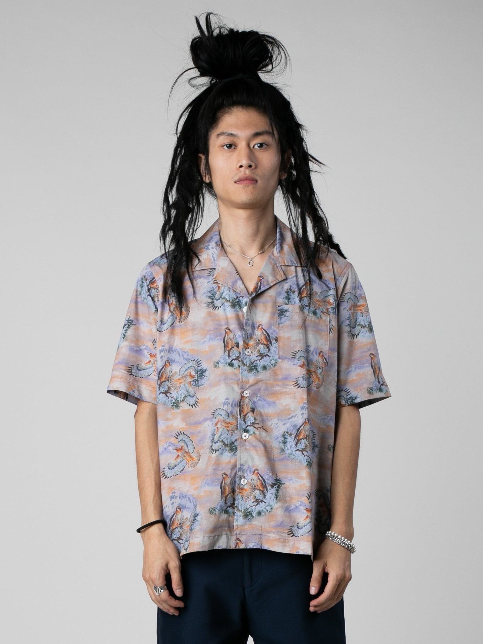 eagle-short-sleeve-button-up