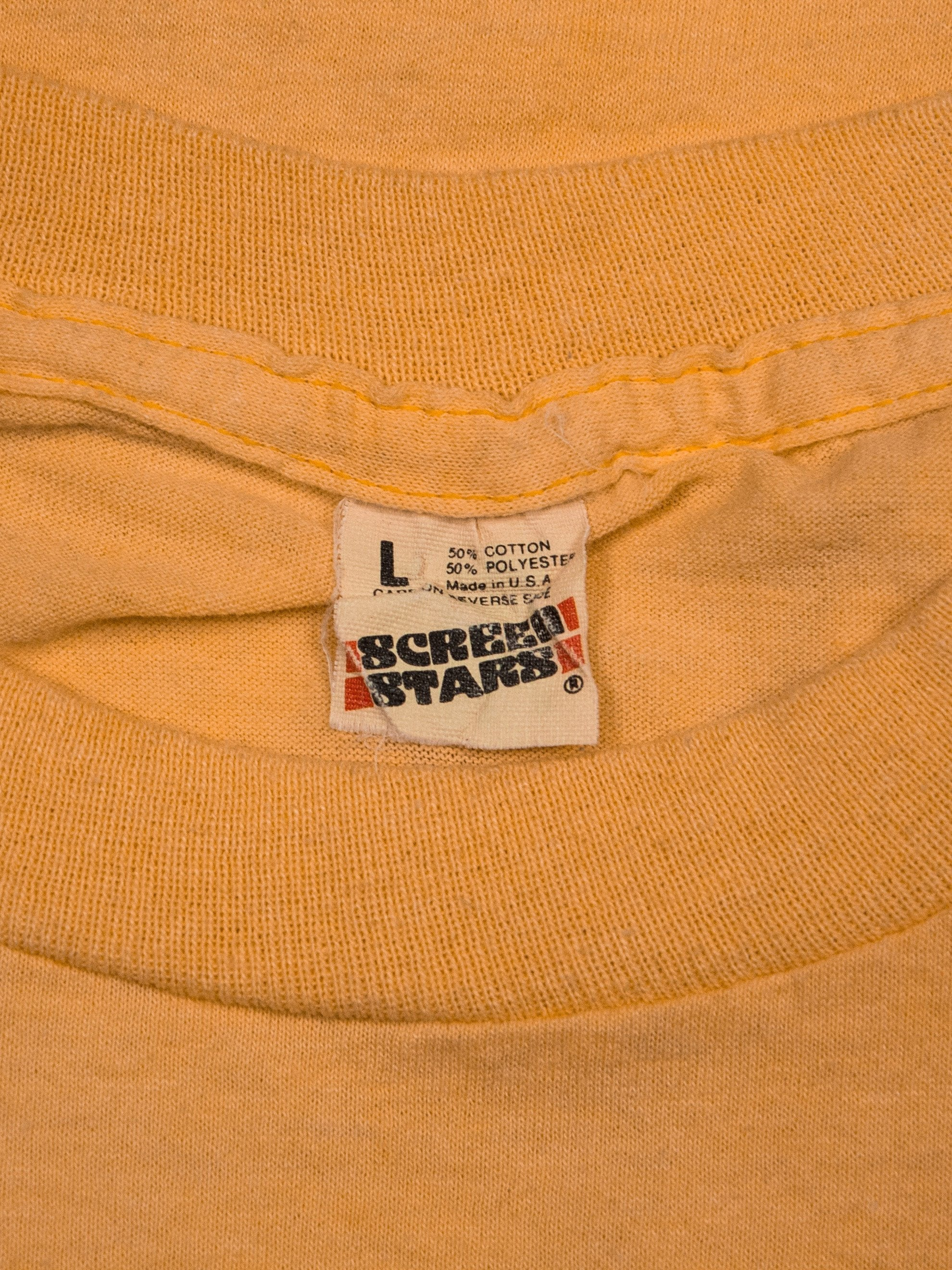 Orange 1980's Roots Revisited T-Shirt 7