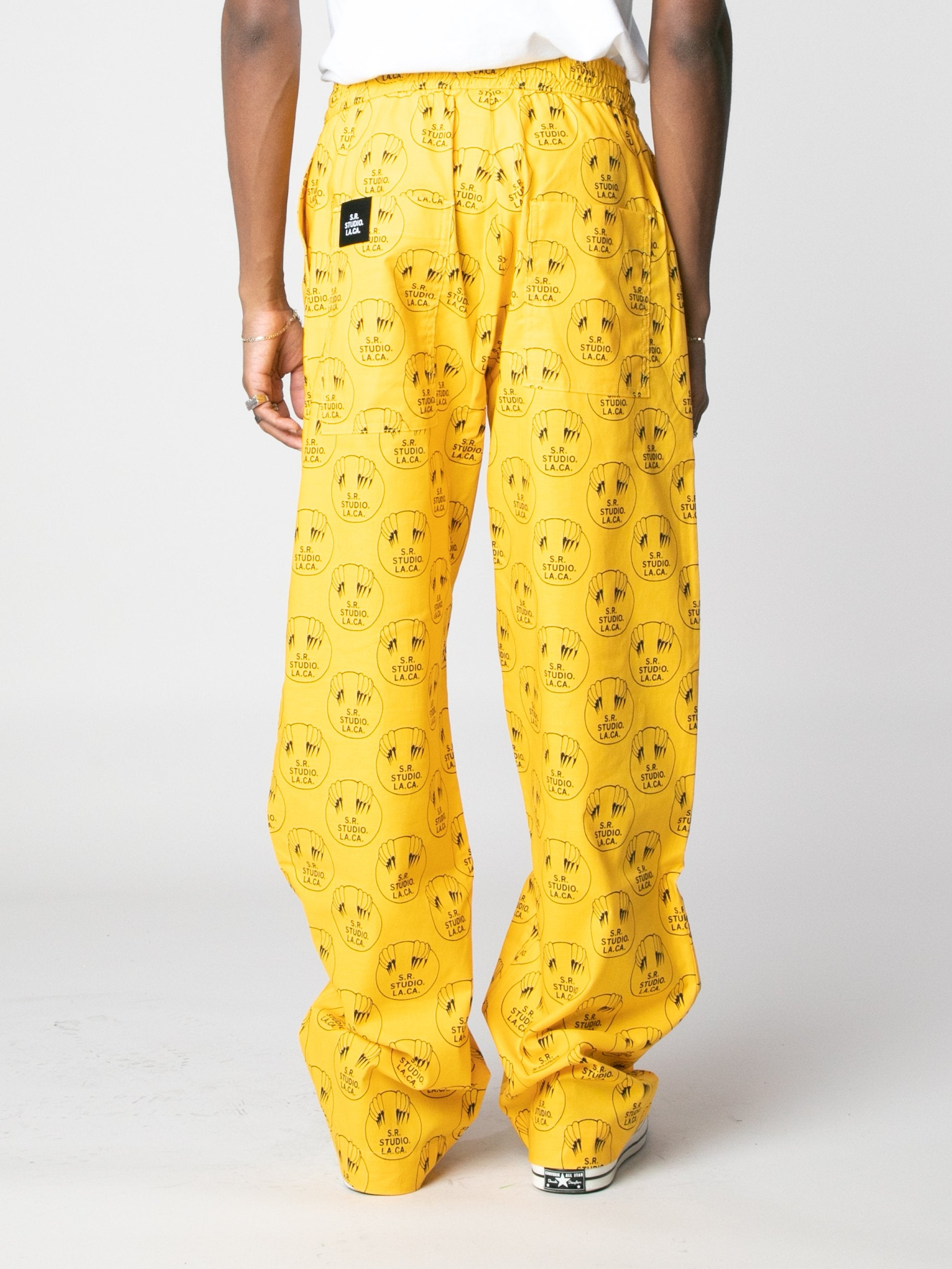 Vampire Sunrise Scrub Pants