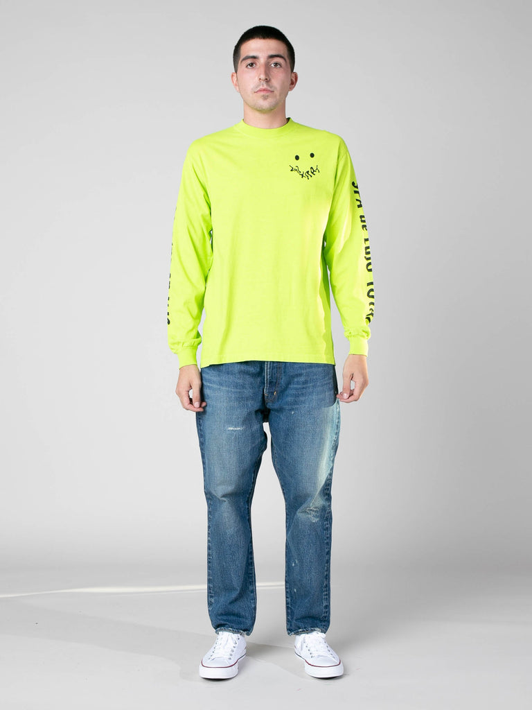 Neon Green SPA De Lujo Total Long Sleeve T-Shirt 311746758525005