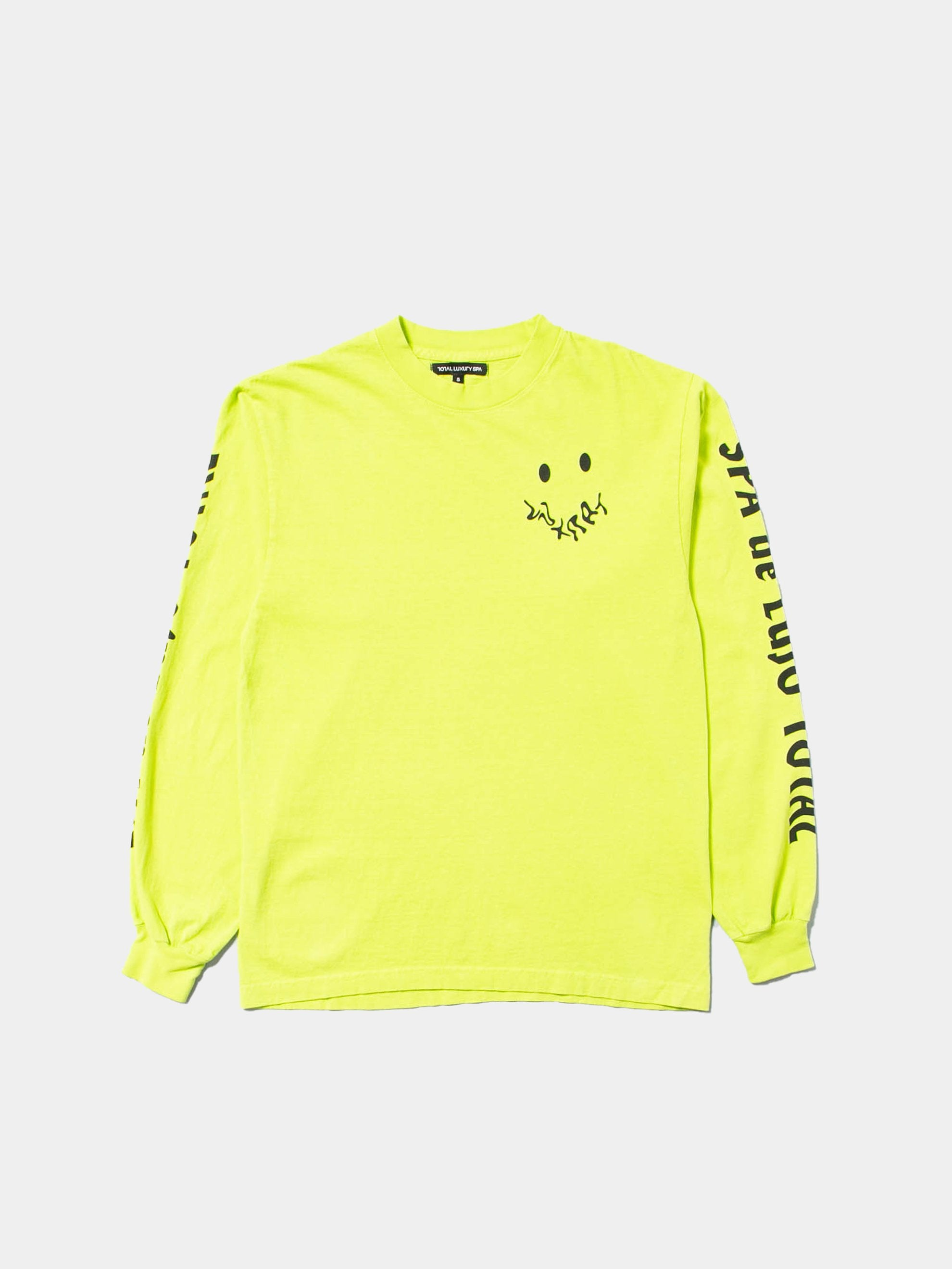 Neon Green SPA De Lujo Total Long Sleeve T-Shirt 1