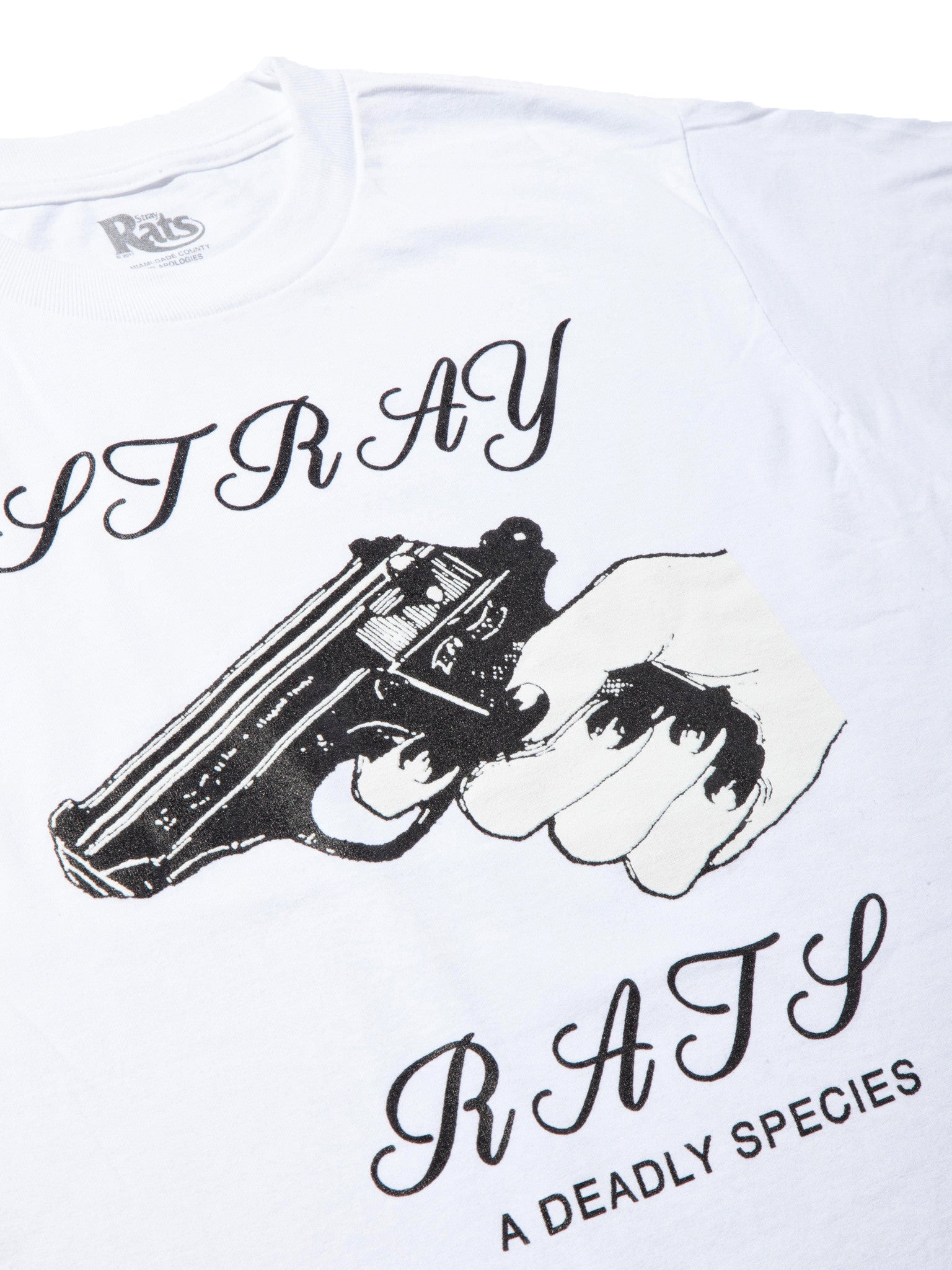 White Deadly Species T-Shirt 6