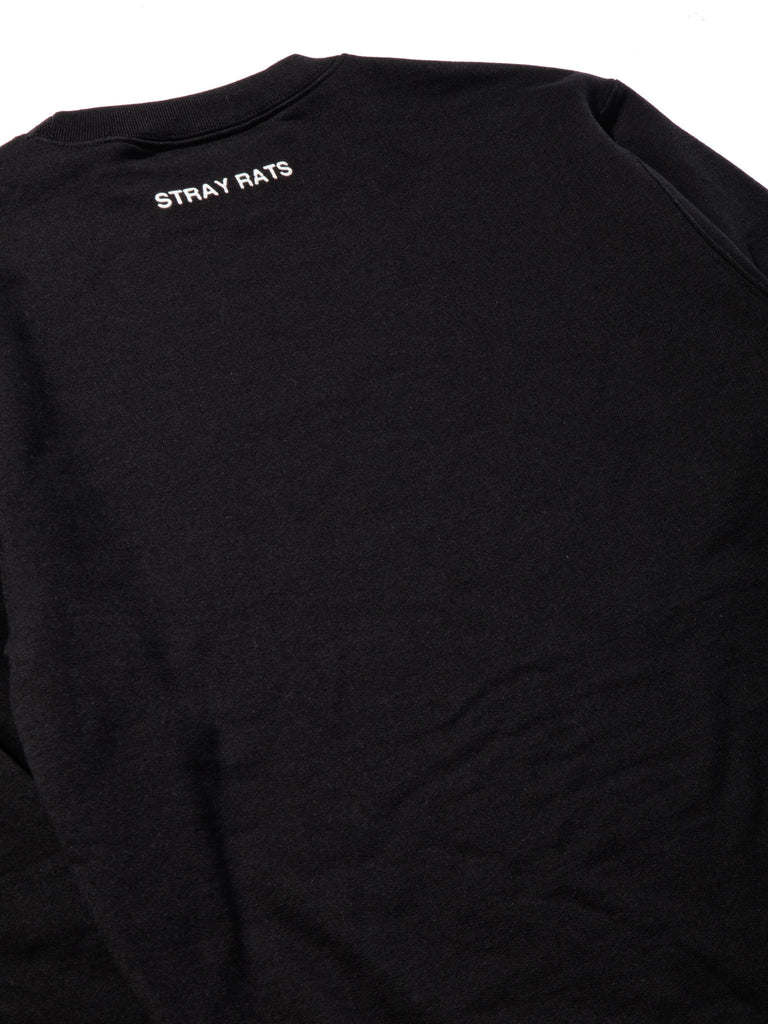 Black Logo Crewneck Sweatshirt 619355295881