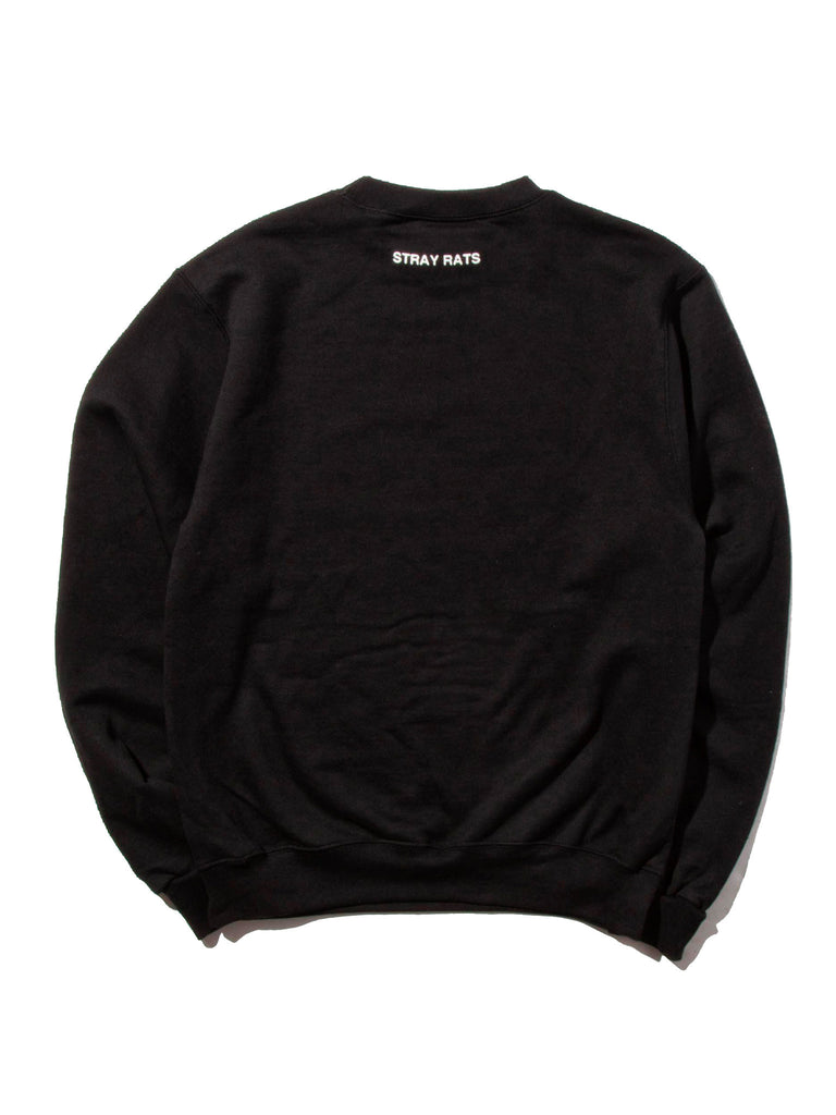 Black Logo Crewneck Sweatshirt 519355297161