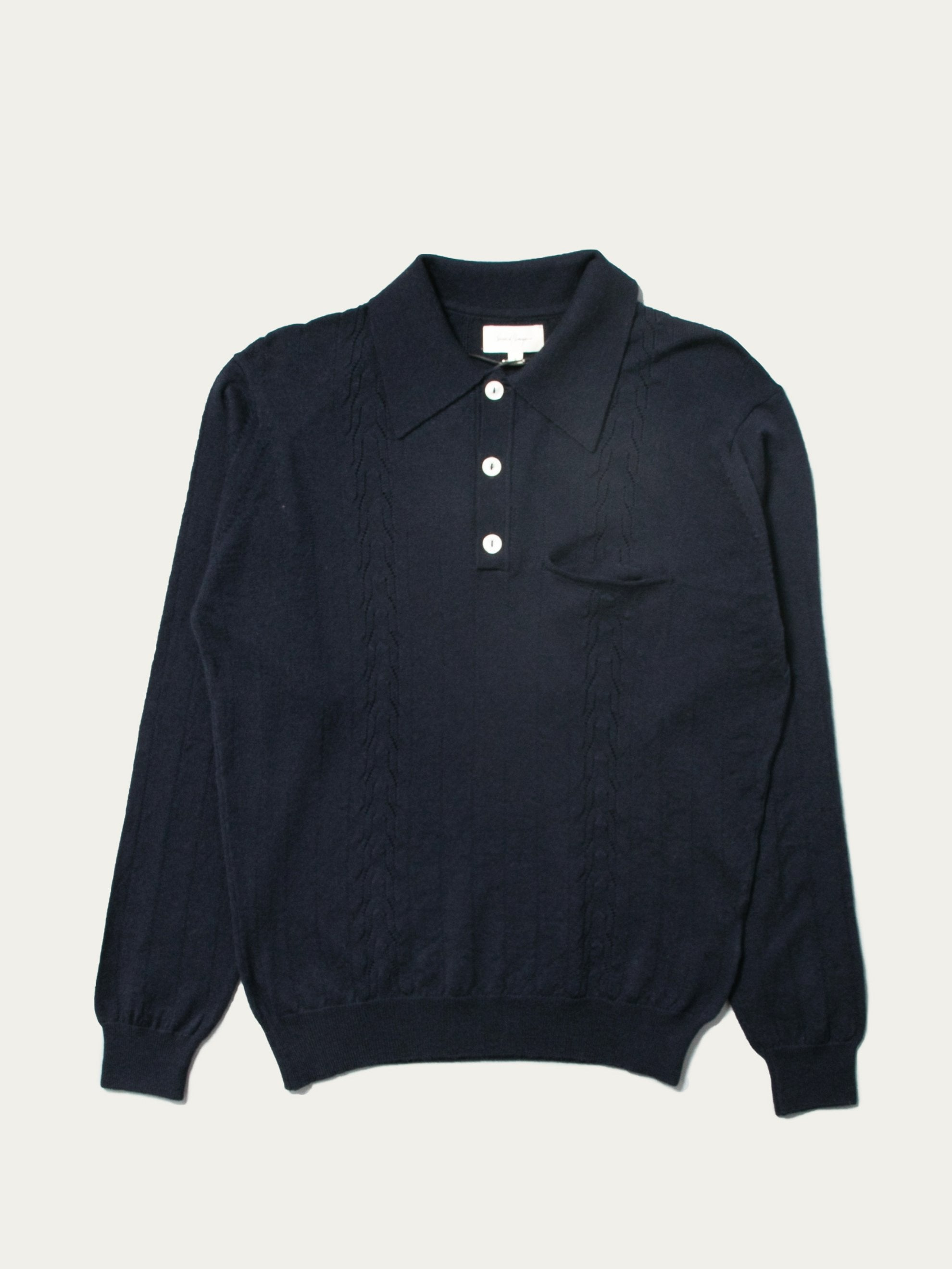 Midnight Polo Sweater 1