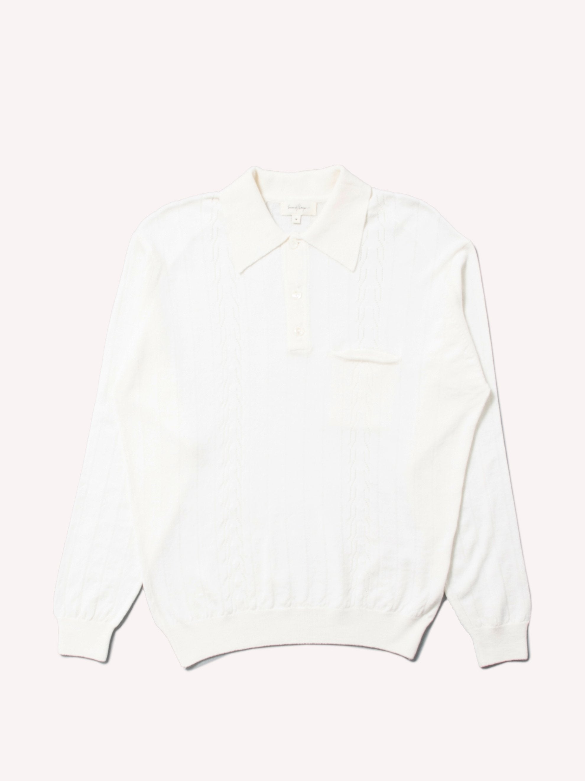 Blanc Polo Sweater 1