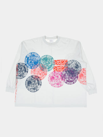 New Flower Circle Long Sleeve T-Shirt