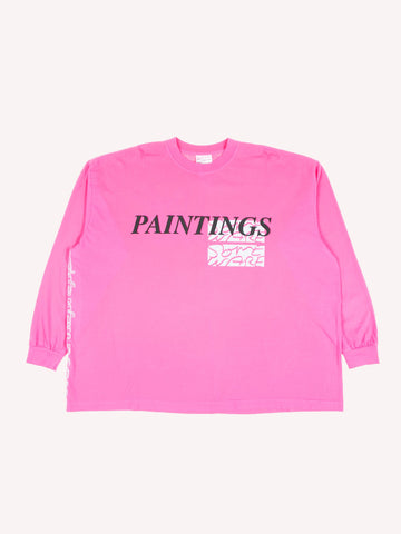 Paintings Long Sleeve T-Shirt