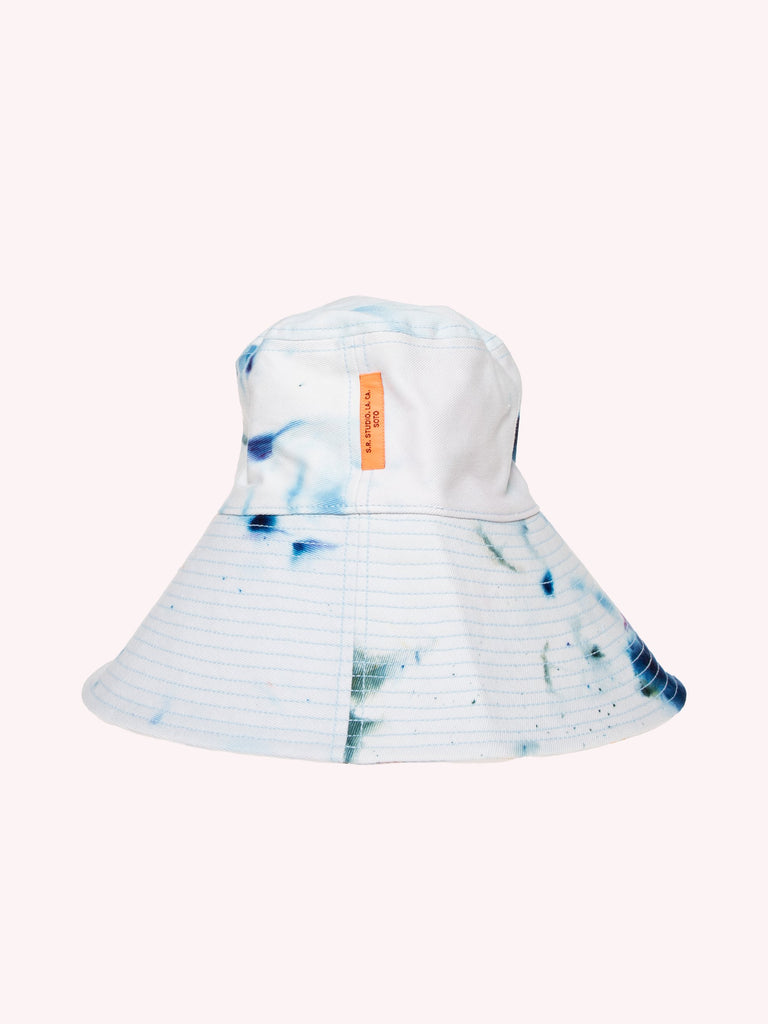 HAND-DYED TRB SOTO LONG BRIM BUCKET HAT