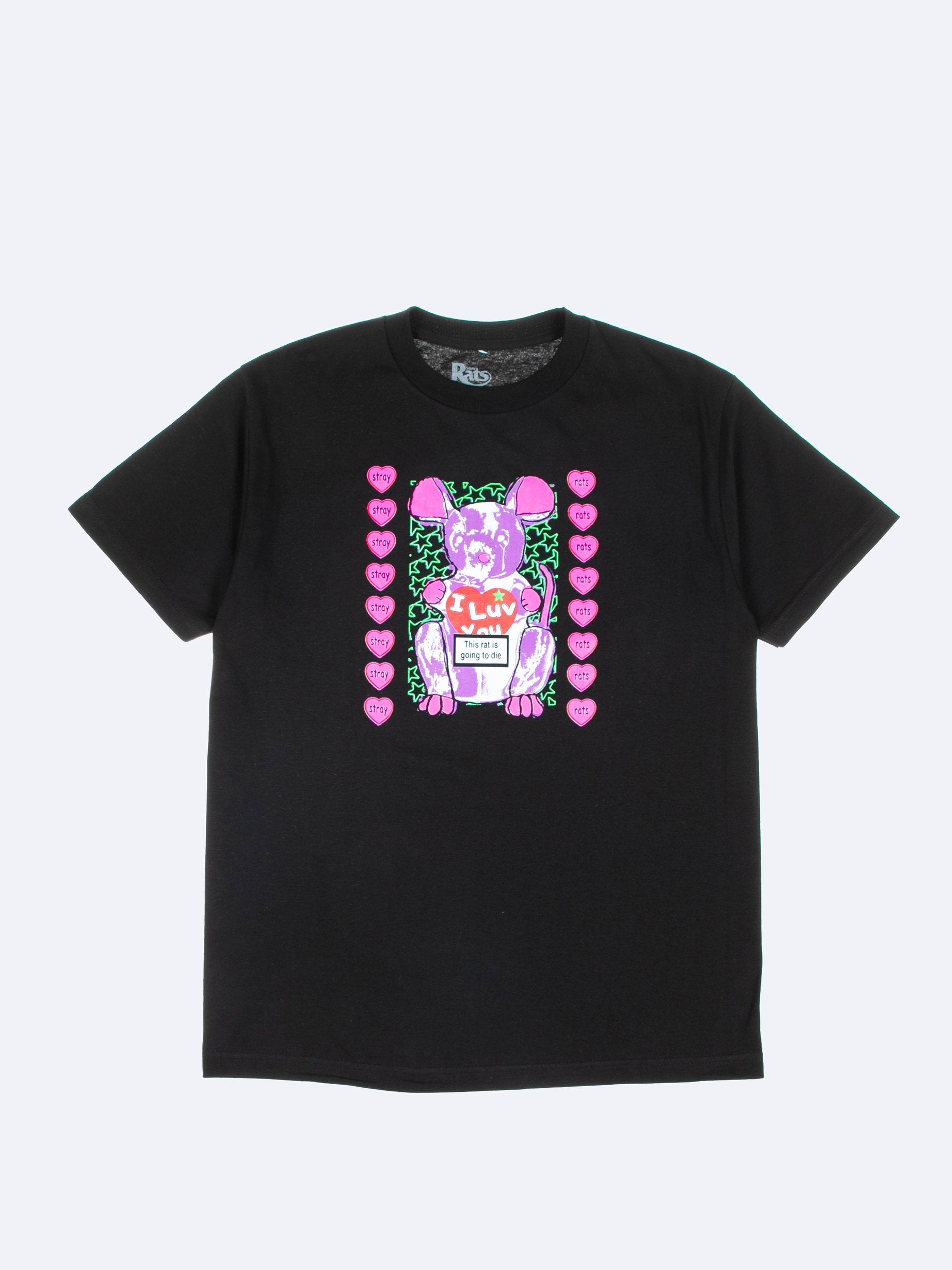 Black I Luv U T-Shirt 1