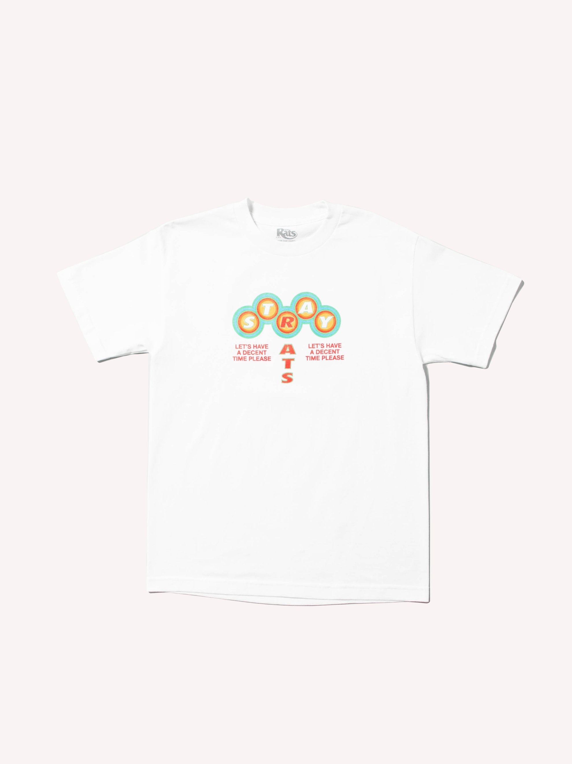 White Decent Times T-Shirt 1