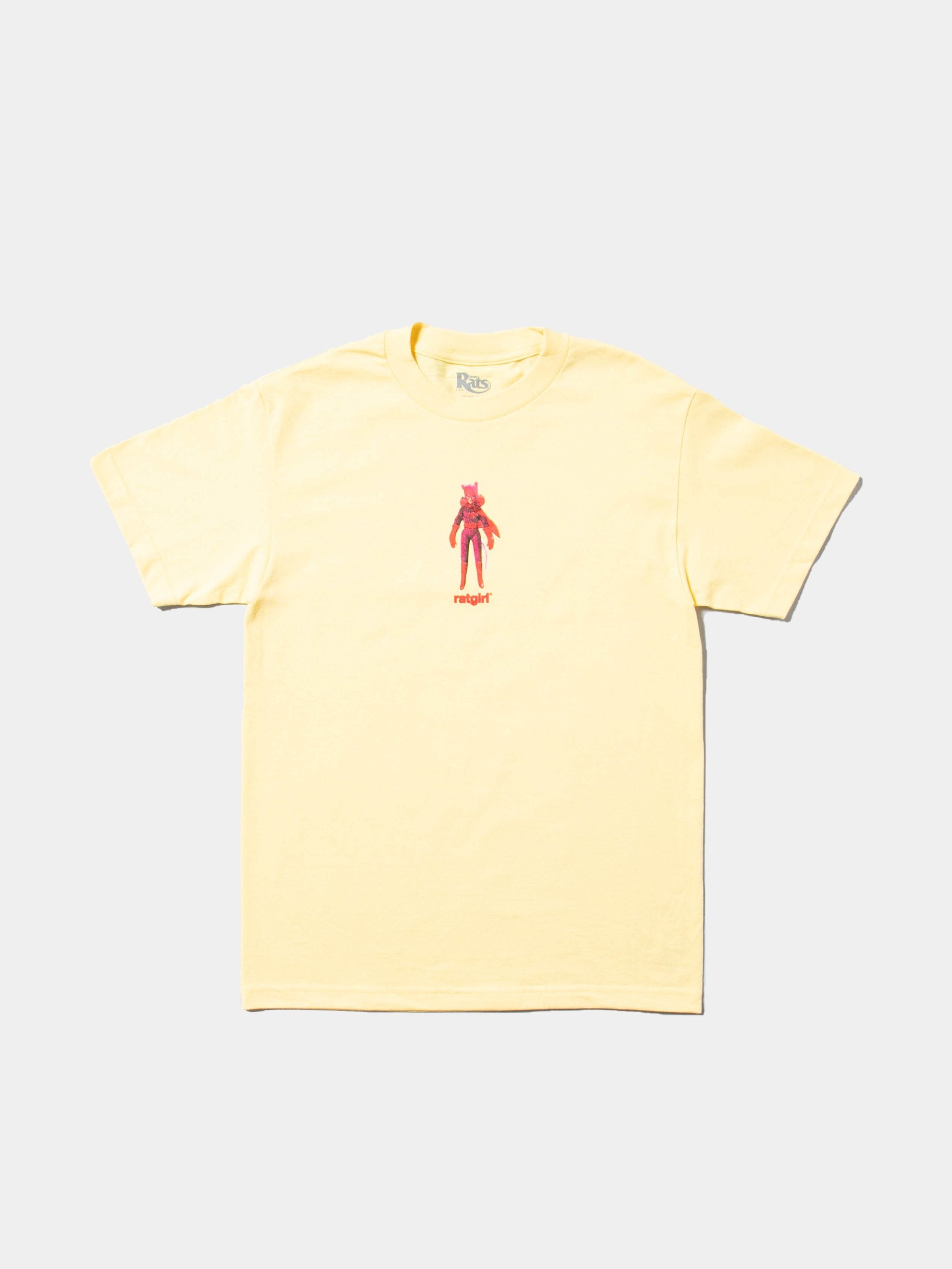 Banana Yellow Ratgirl Figure T-Shirt 1