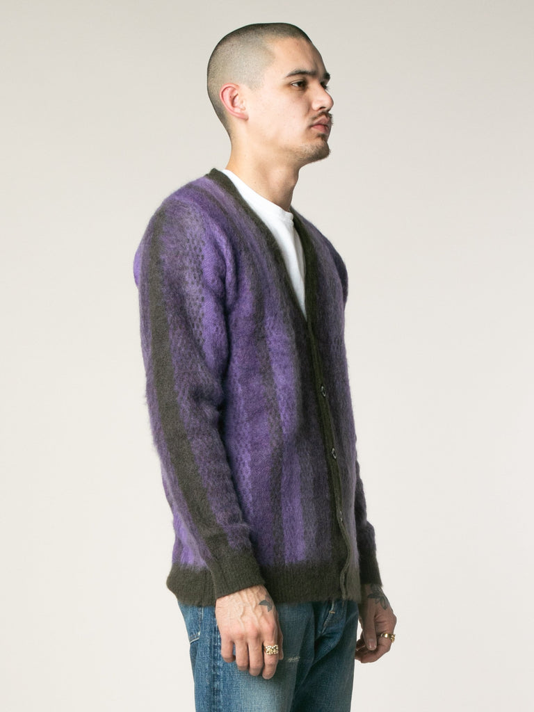 Striped Mohair Cardigan13753564135501