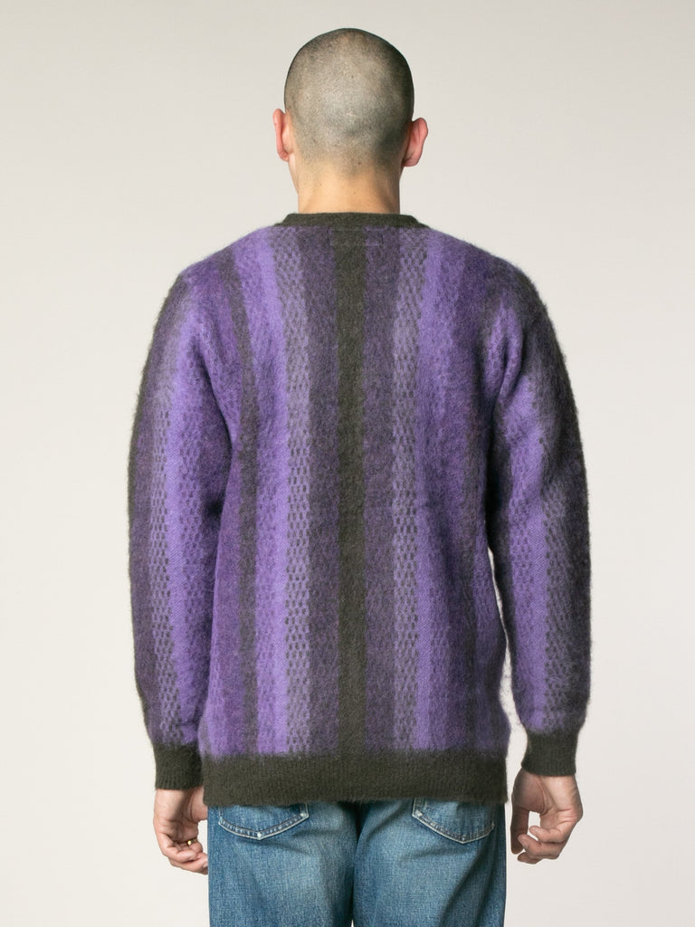 Striped Mohair Cardigan13753564201037