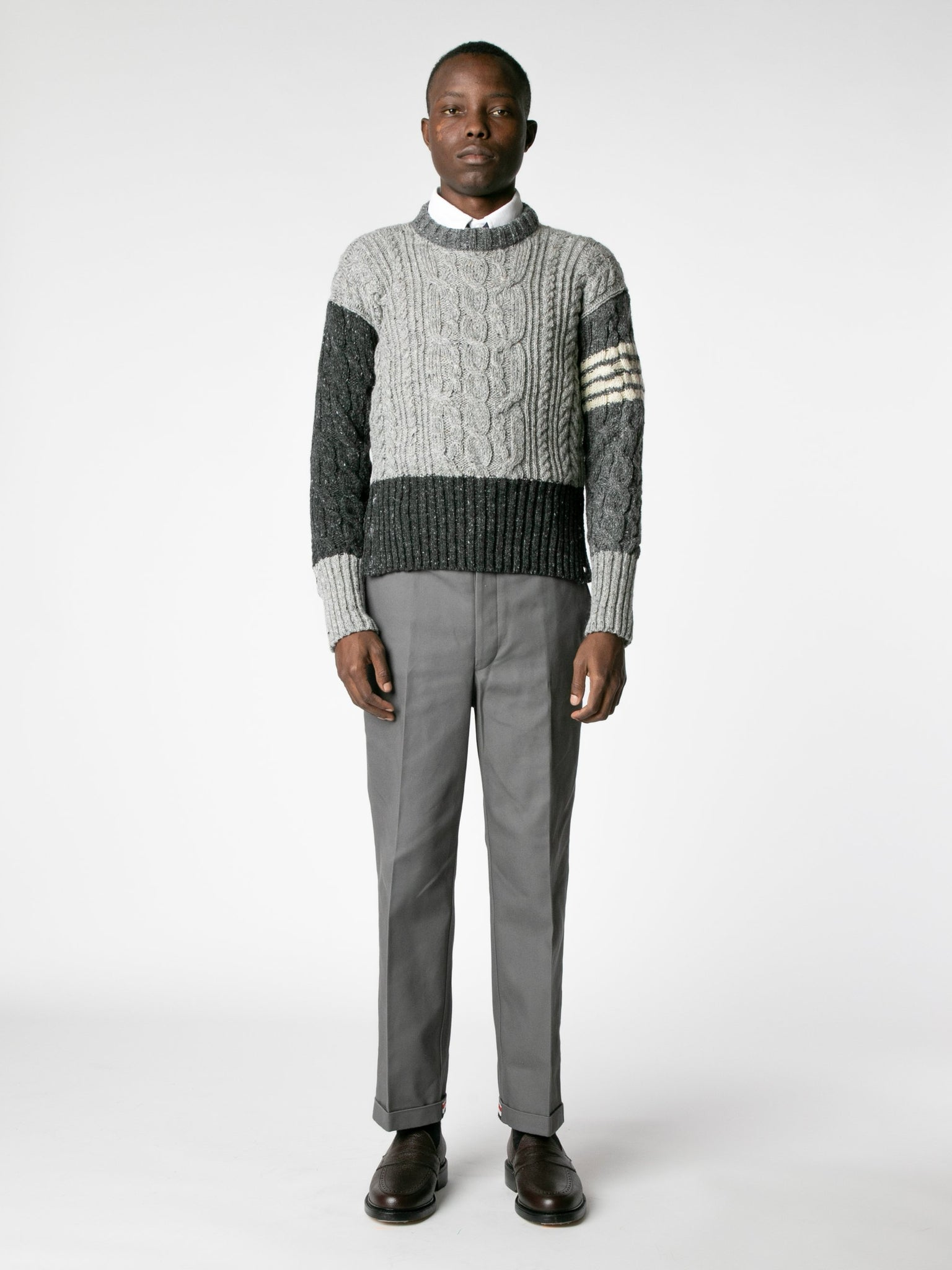 aran-cable-crew-neck-pullover-in-mohair-tweed-with-white-4-bar-stripe