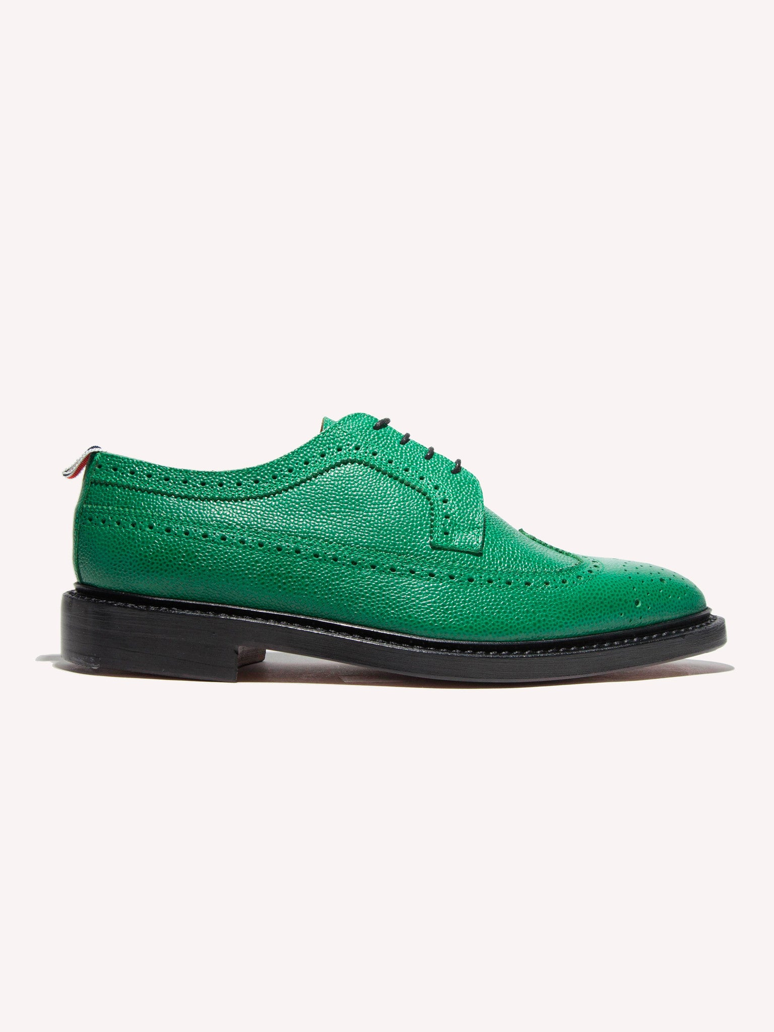 Dark Green Classic Longwing (Leather Sole/Pebble Grain) 1