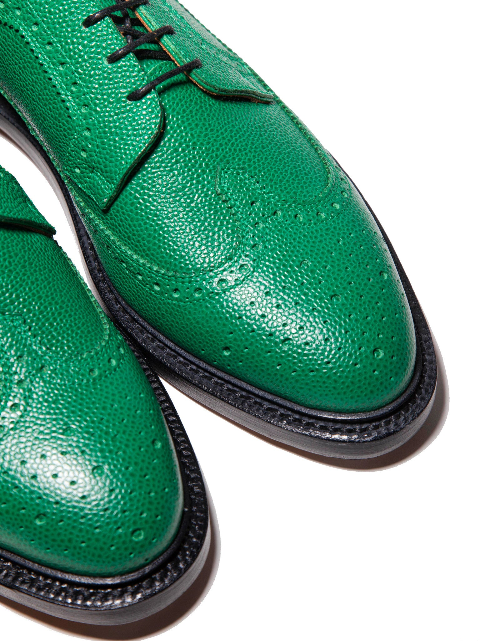 Dark Green Classic Longwing (Leather Sole/Pebble Grain) 3