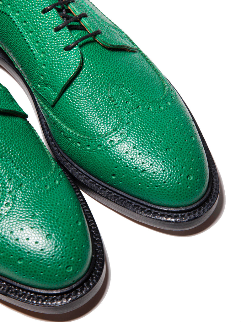 Dark Green Classic Longwing (Leather Sole/Pebble Grain) 319674174793