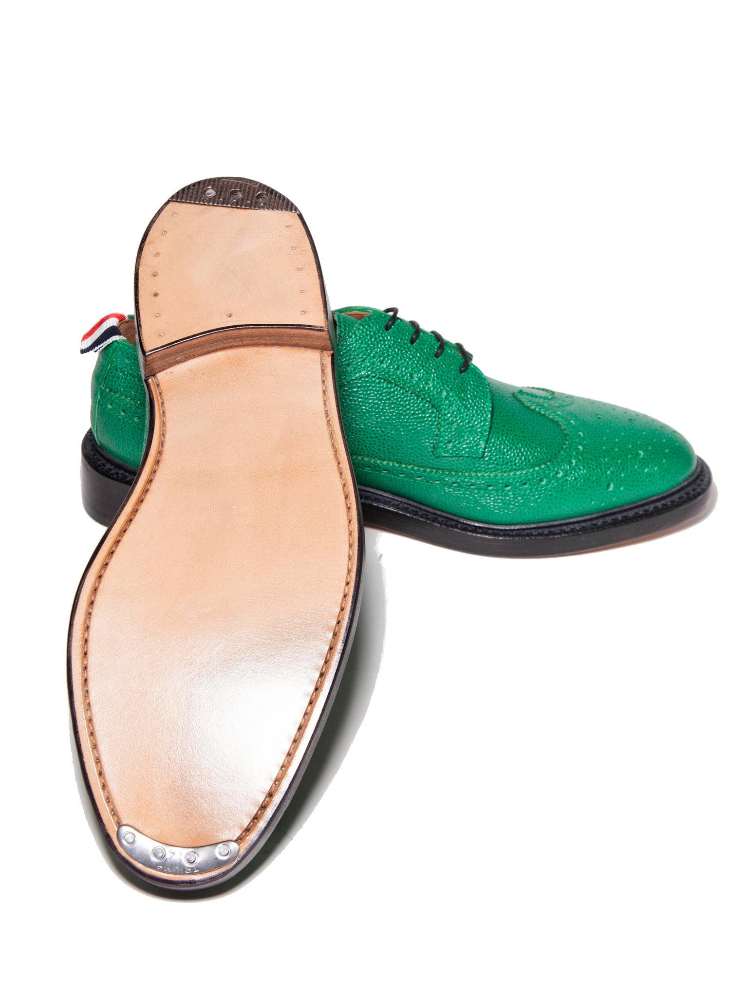 Dark Green Classic Longwing (Leather Sole/Pebble Grain) 4