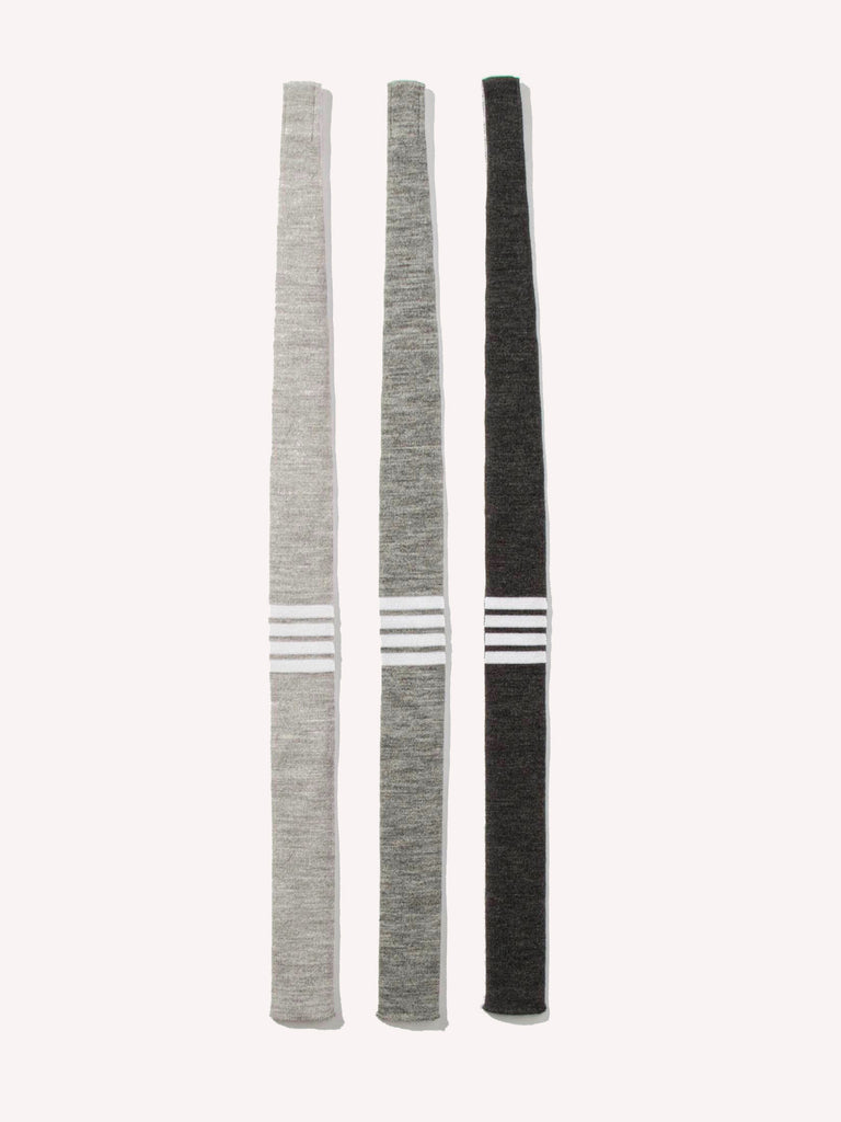 Knit Tie (4 Bar Stripe Wool)
