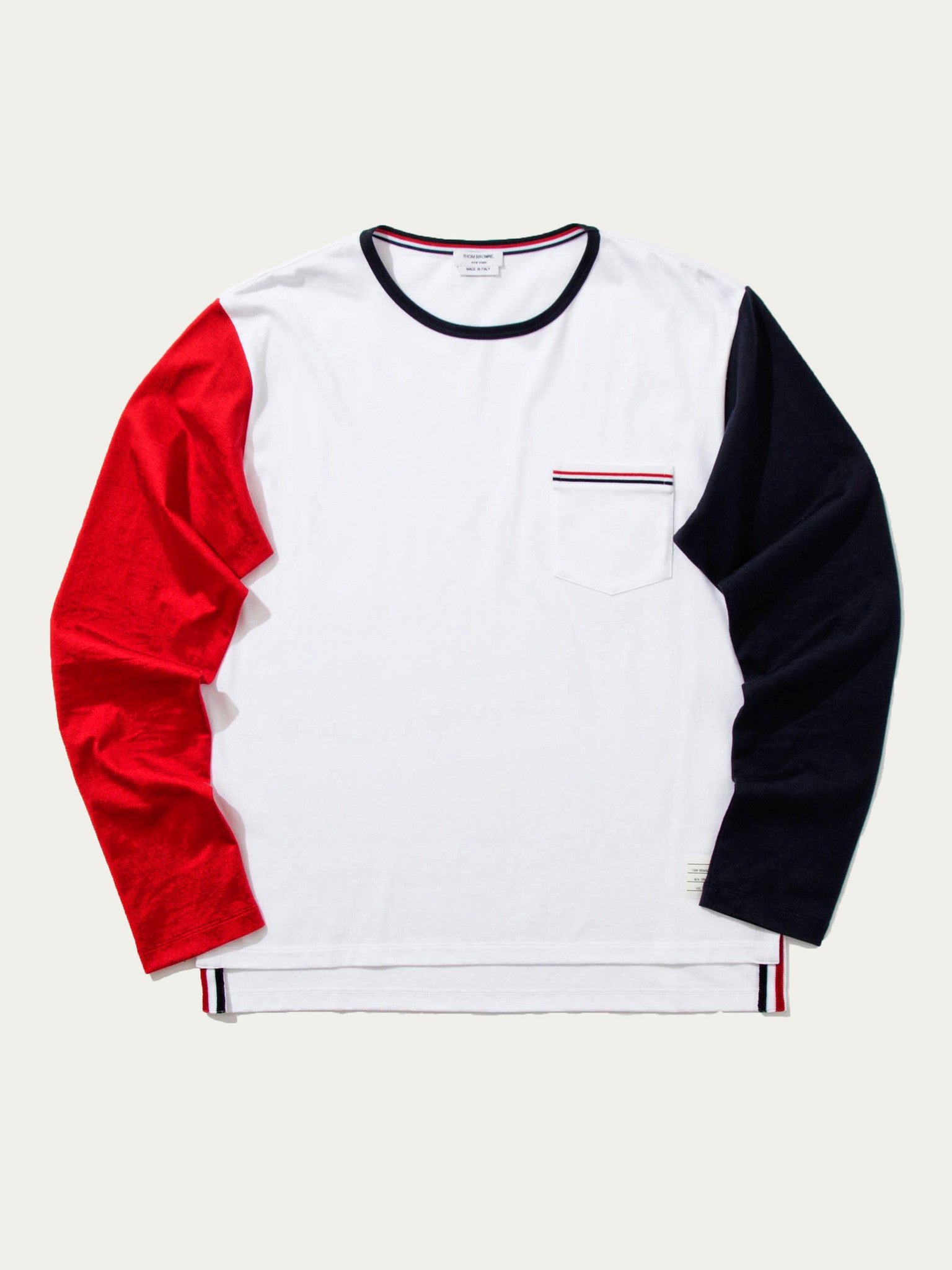 LS Pocket Tee (Funmix Medium Weight Jersey Cotton)