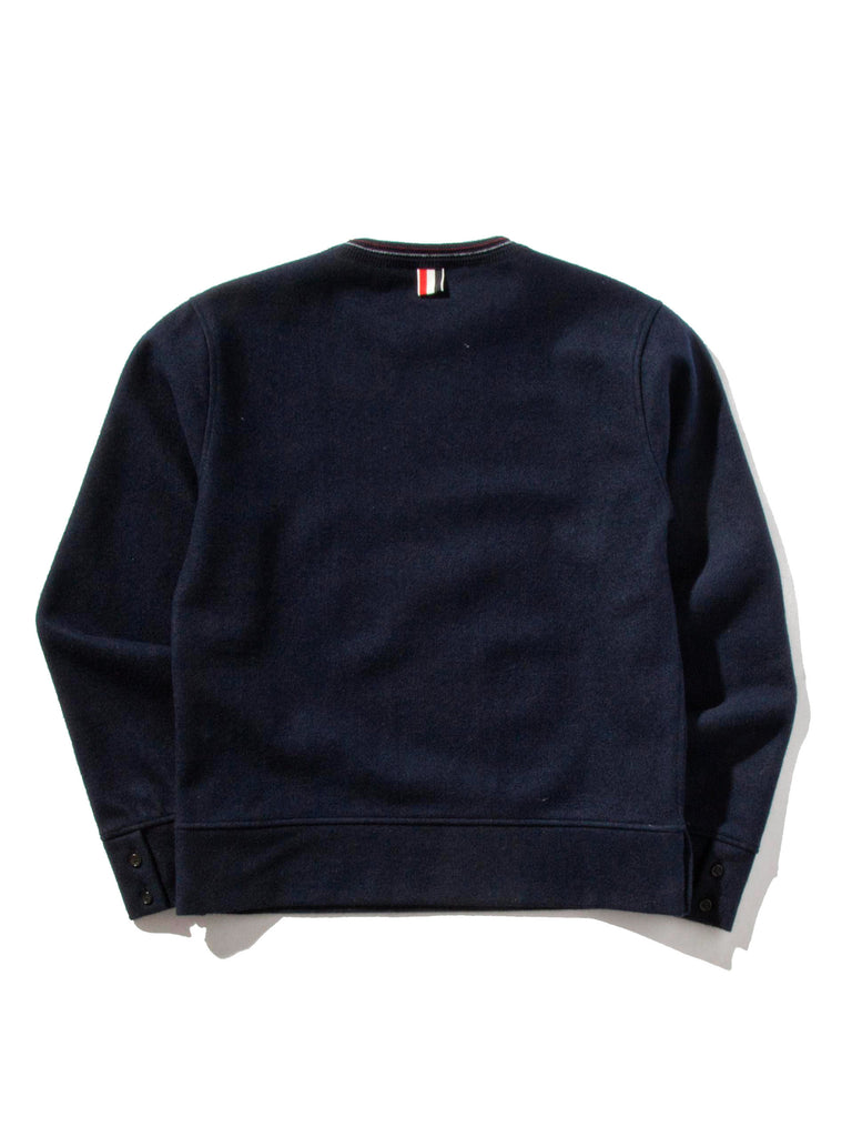 Navy LS Pullover (Boiled Wool) 520632368649