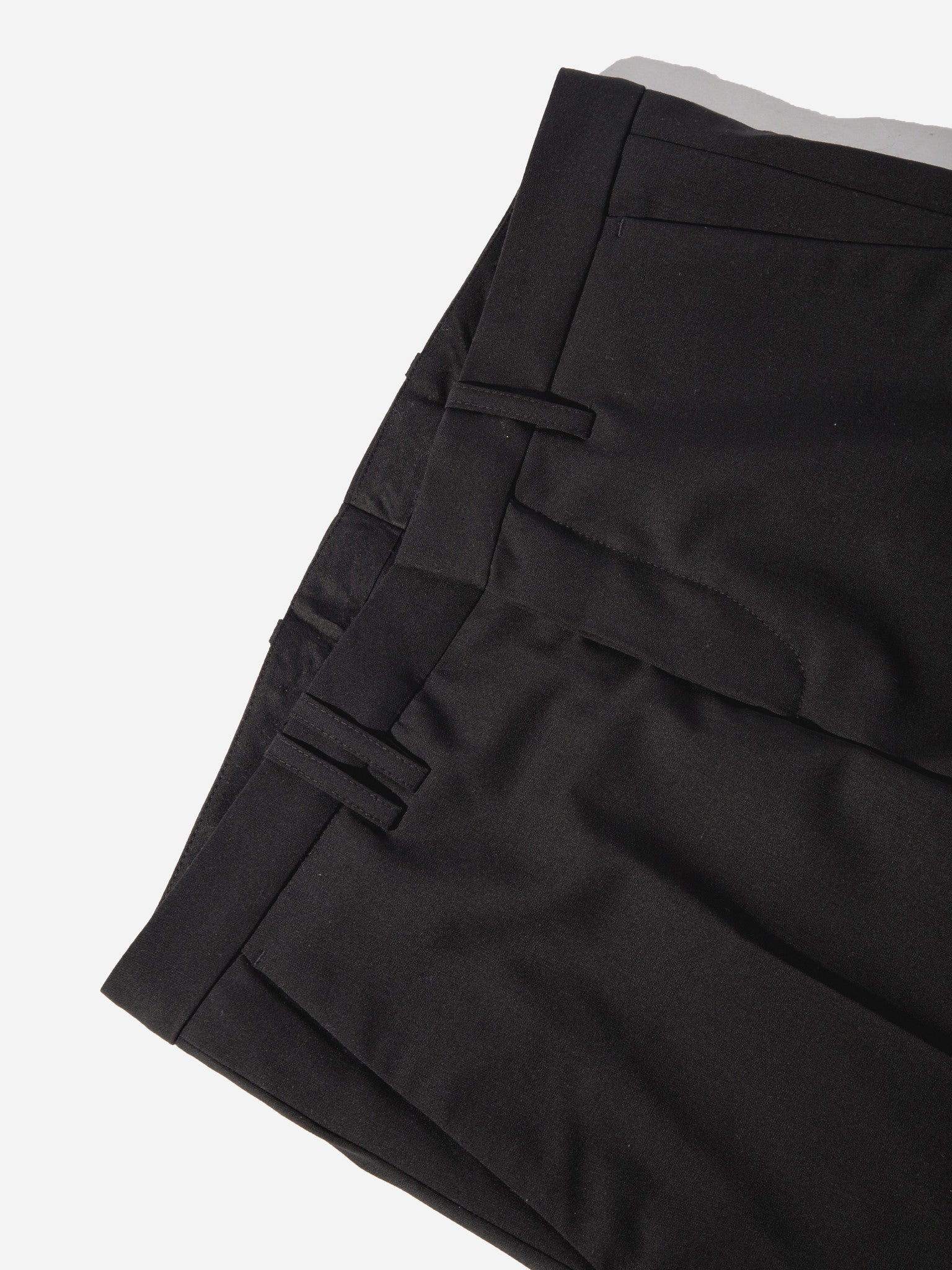 Black Cropped Tailored Trouser 6